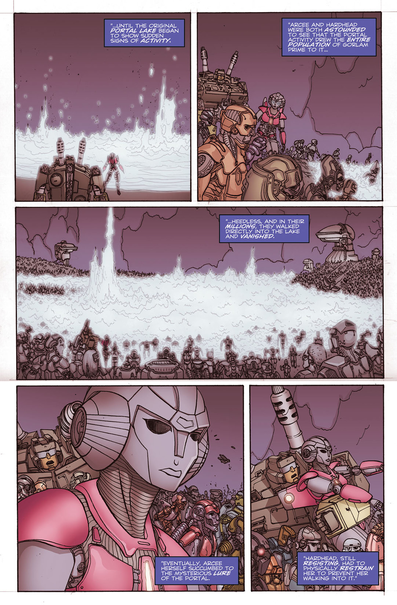 Read online Transformers: Heart of Darkness comic -  Issue #2 - 14