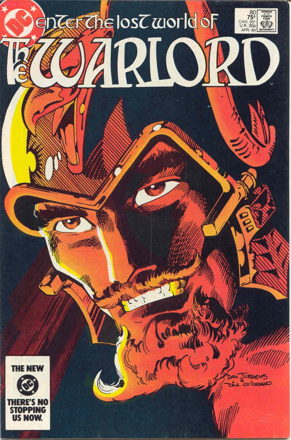 Warlord (1976) 80 Page 1
