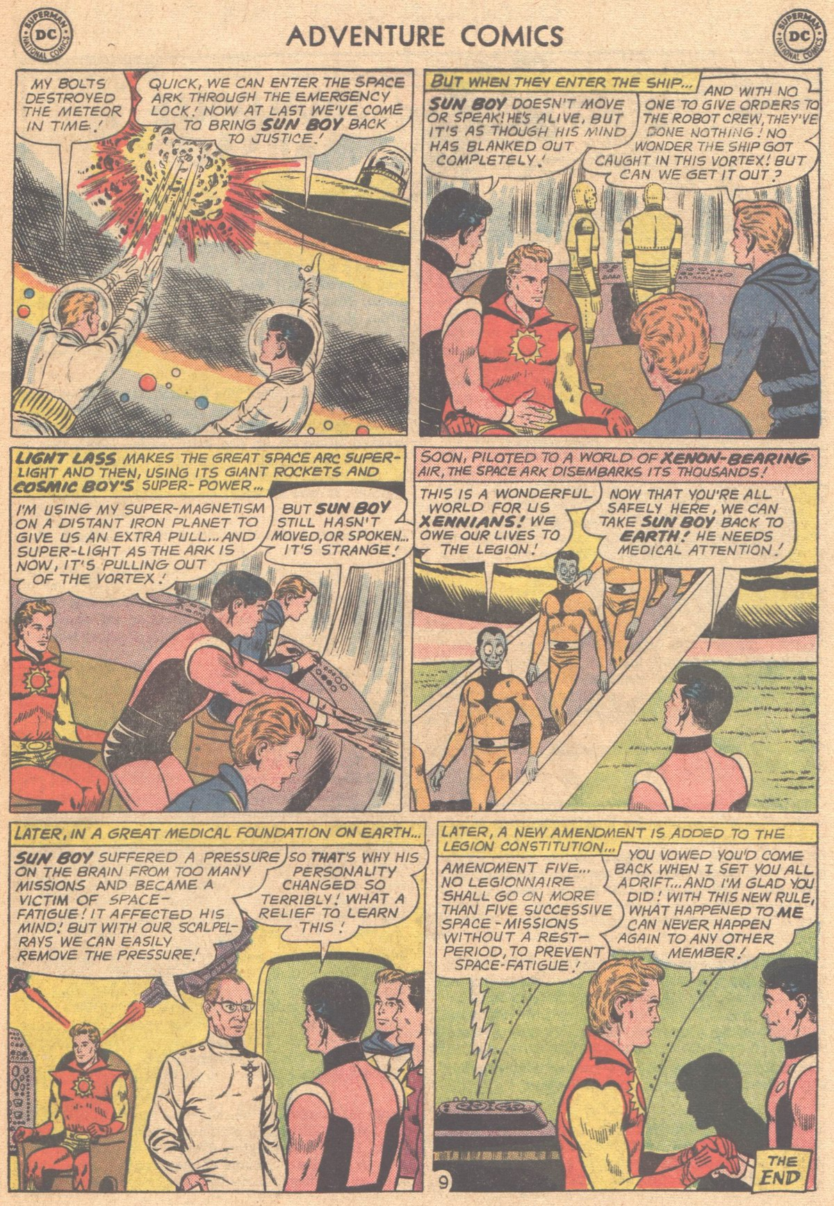 Read online Adventure Comics (1938) comic -  Issue #318 - 21