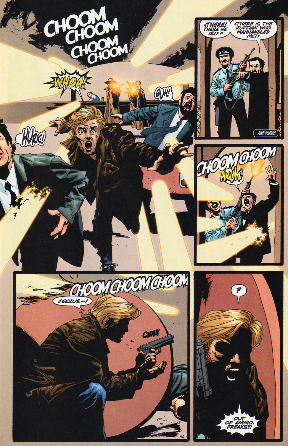 Wildcats (1999) Issue #11 #12 - English 12