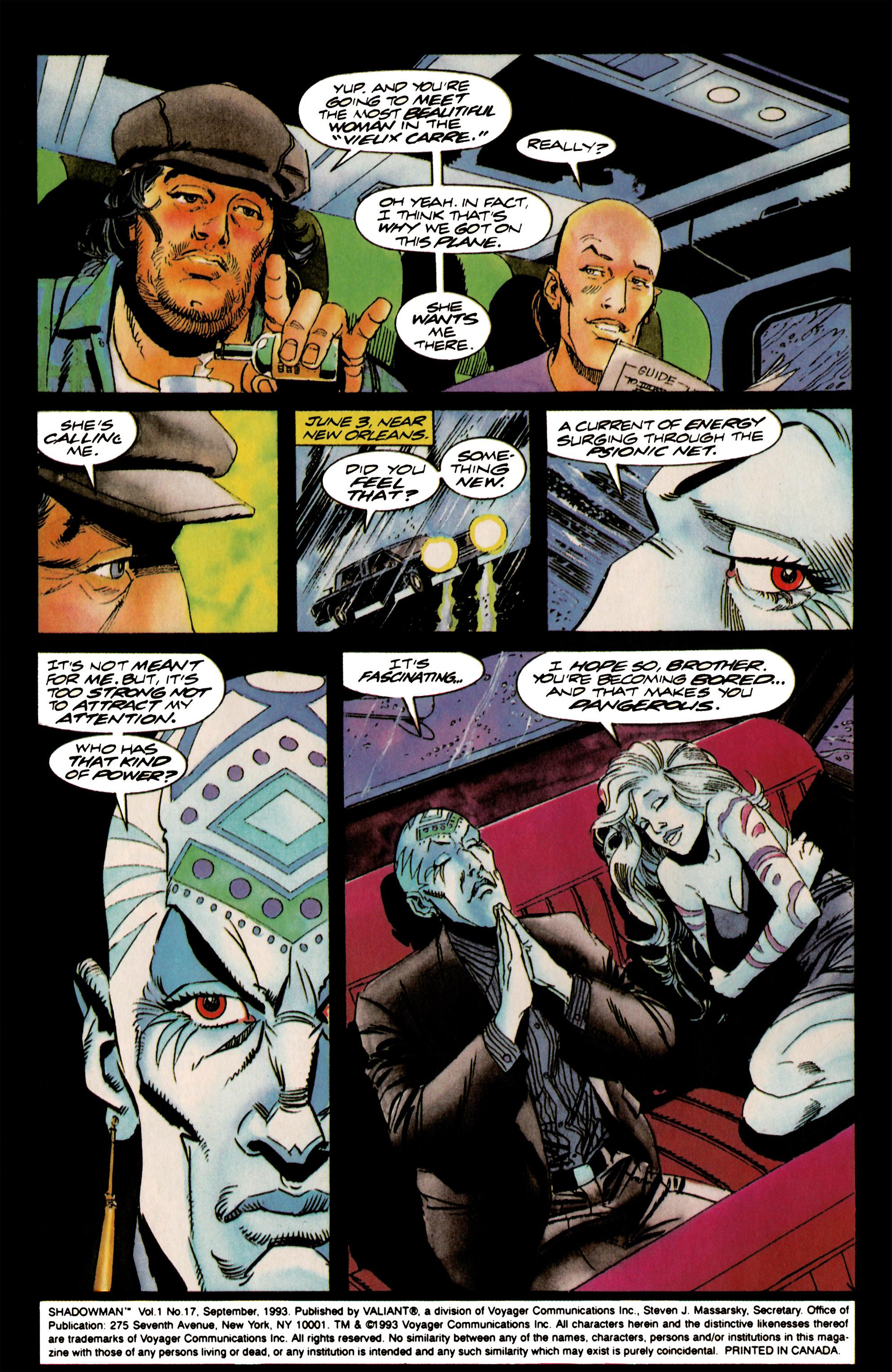Read online Shadowman (1992) comic -  Issue #17 - 3