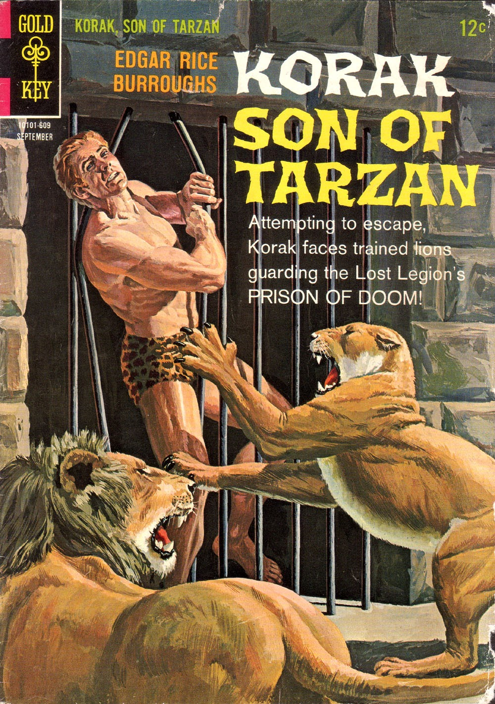 Korak, Son of Tarzan (1964) issue 14 - Page 1