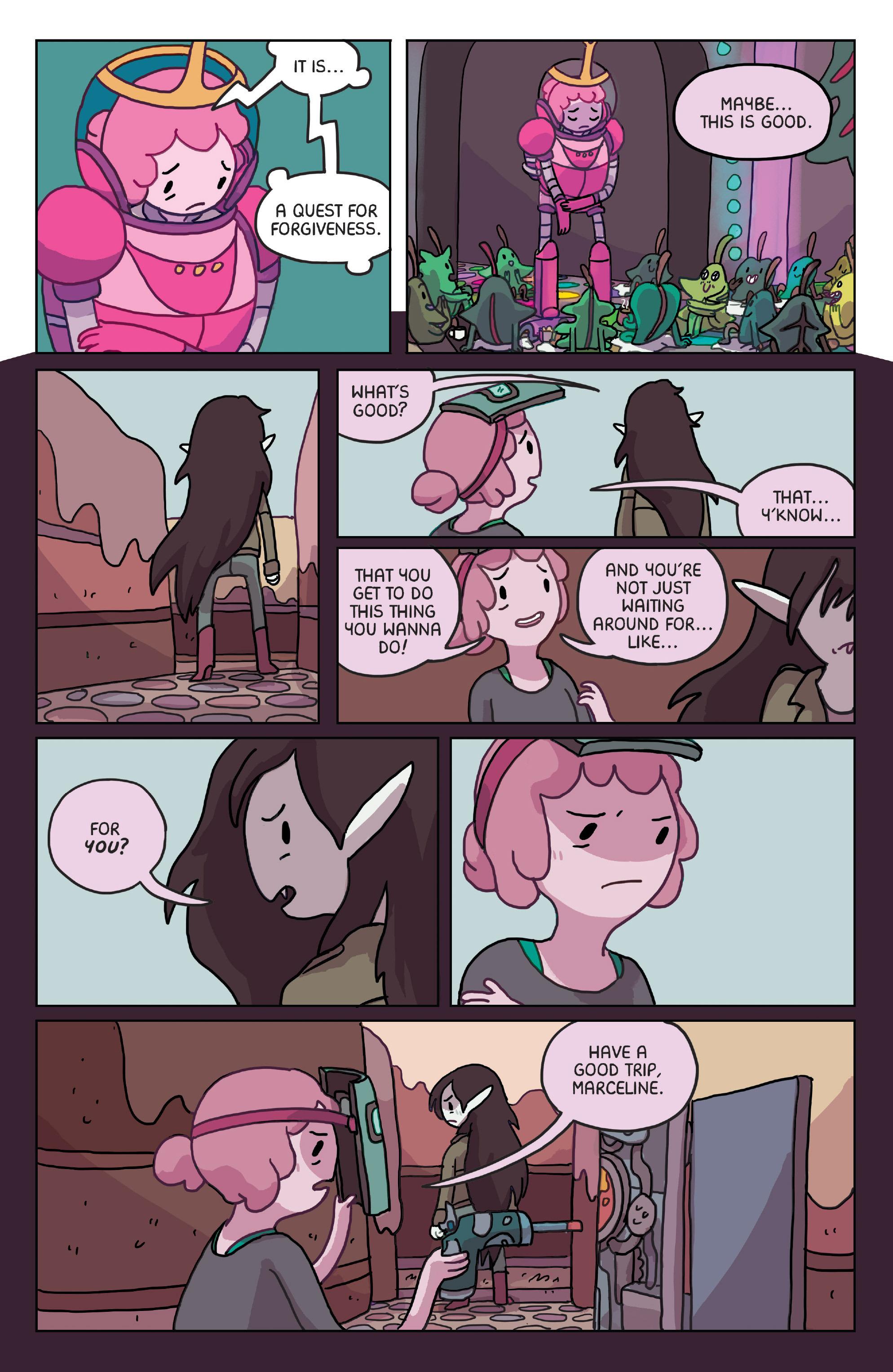Read online Adventure Time: Marceline Gone Adrift comic -  Issue #4 - 20