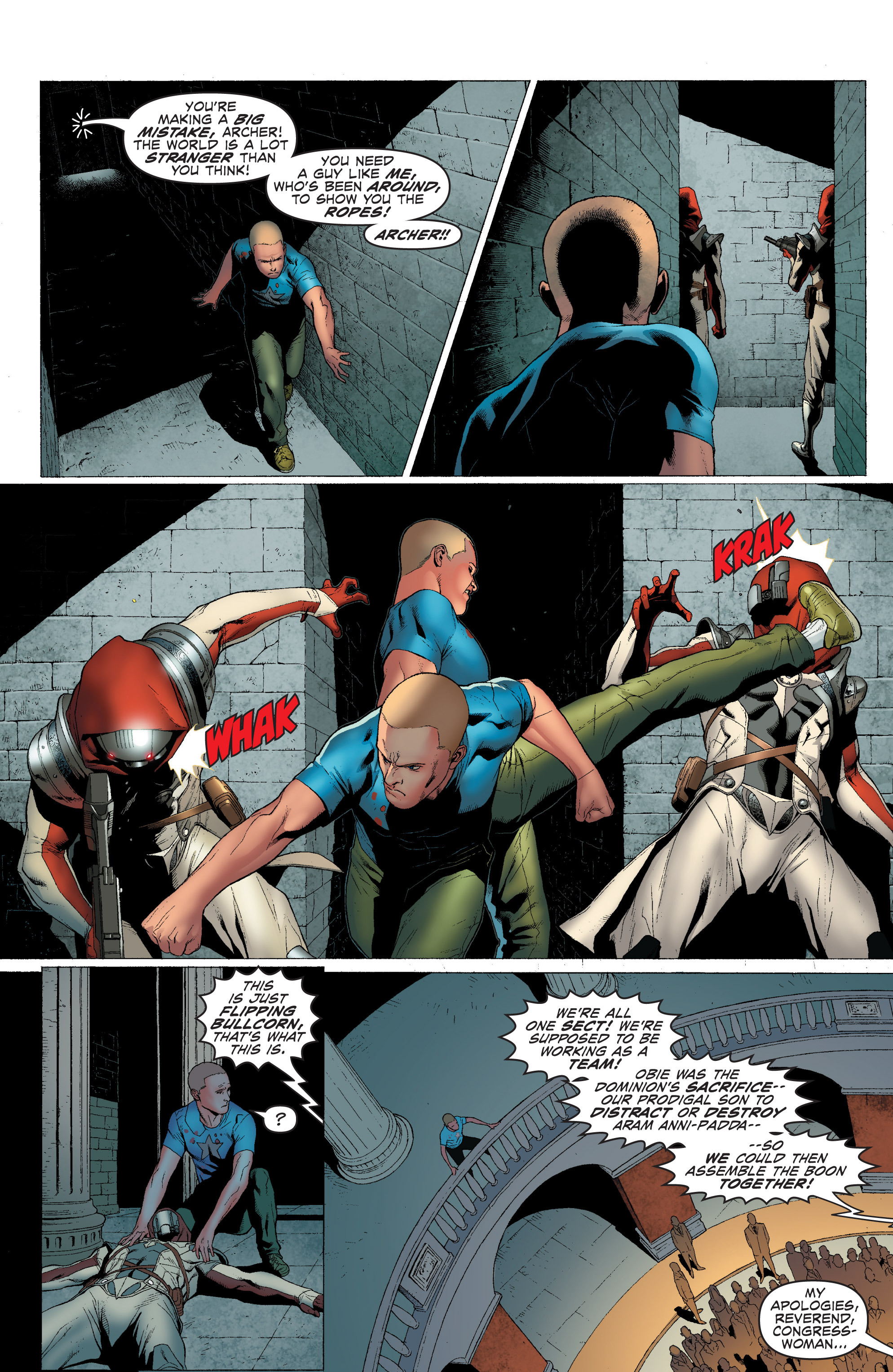 Read online Archer and Armstrong comic -  Issue #Archer and Armstrong _TPB 1 - 28