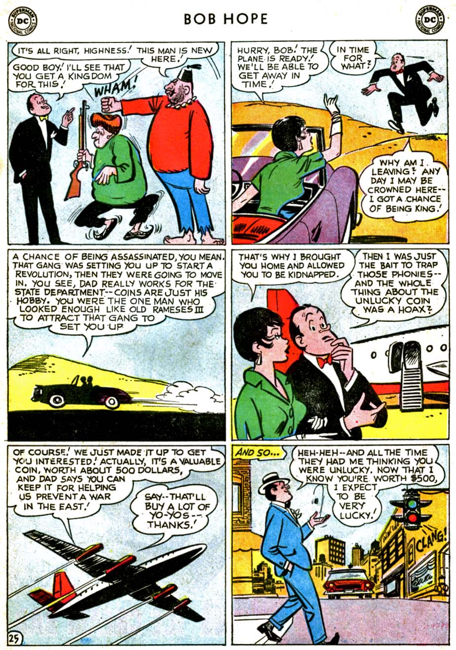 The Adventures of Bob Hope issue 71 - Page 31