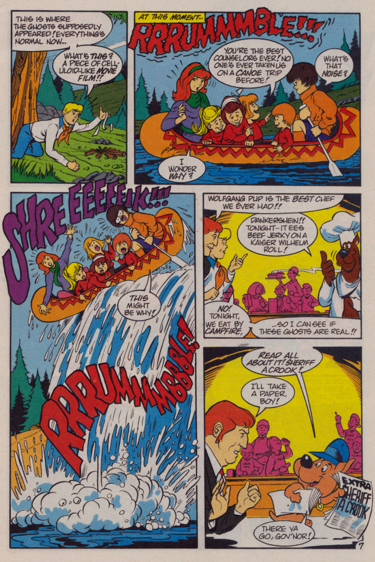 Read online Scooby-Doo (1995) comic -  Issue #11 - 9