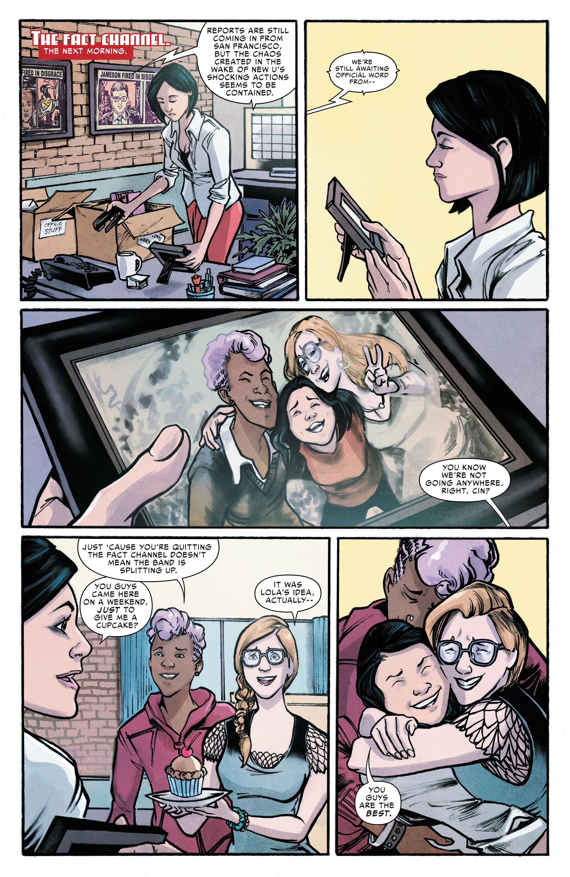 Read online Silk (2016) comic -  Issue #18 - 5