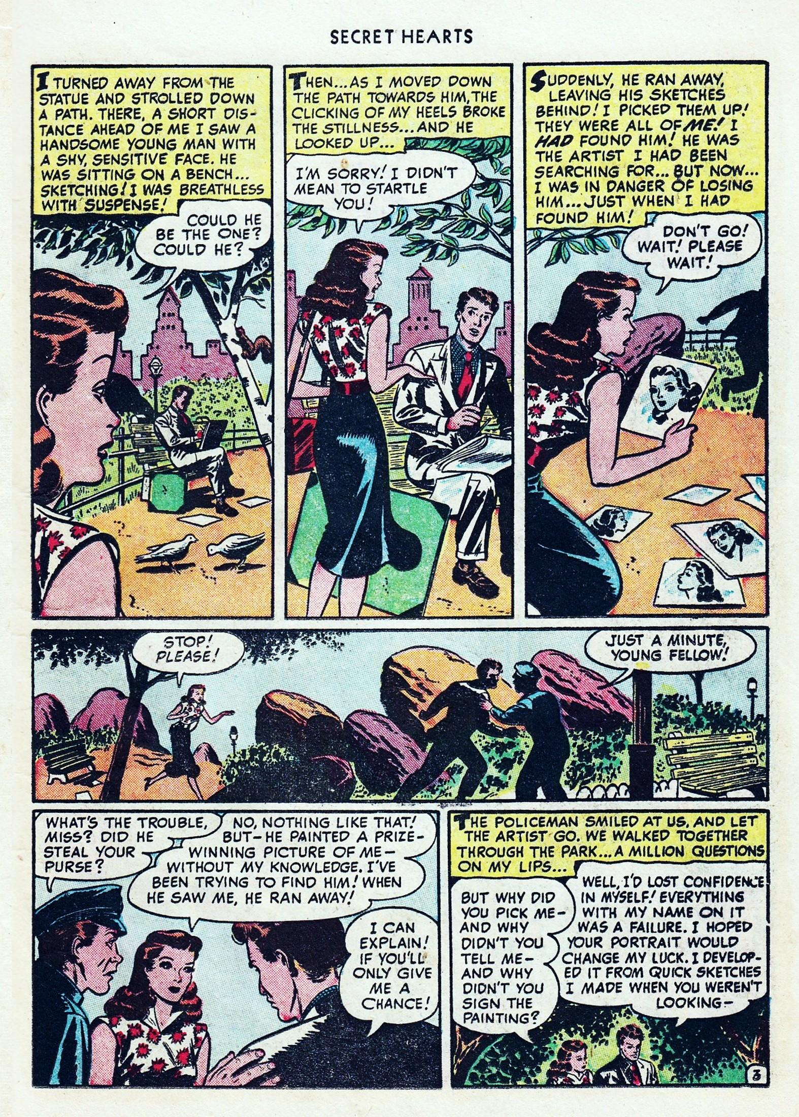 Read online Secret Hearts comic -  Issue #1 - 15