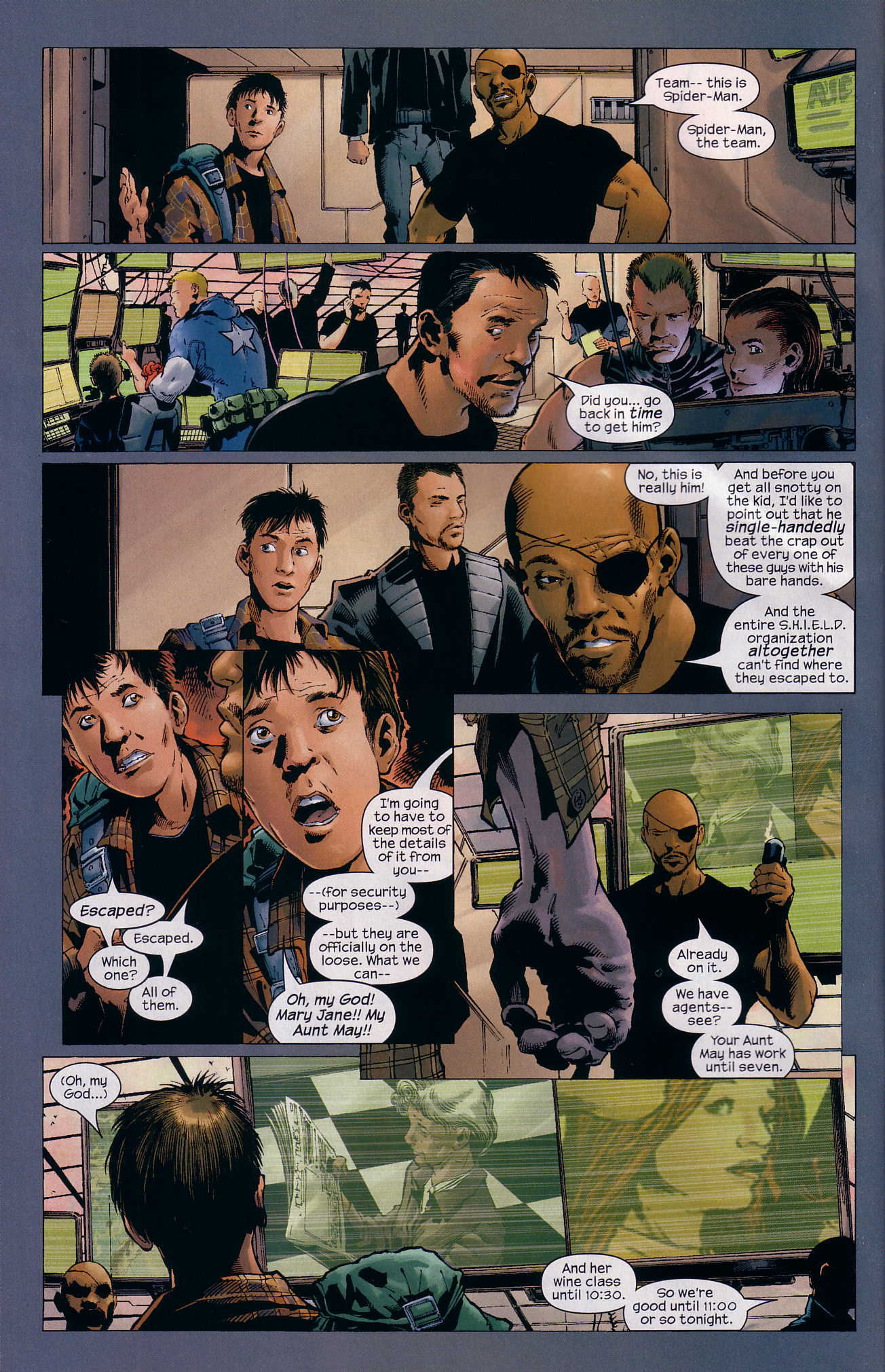 Read online Ultimate Six comic -  Issue #3 - 19