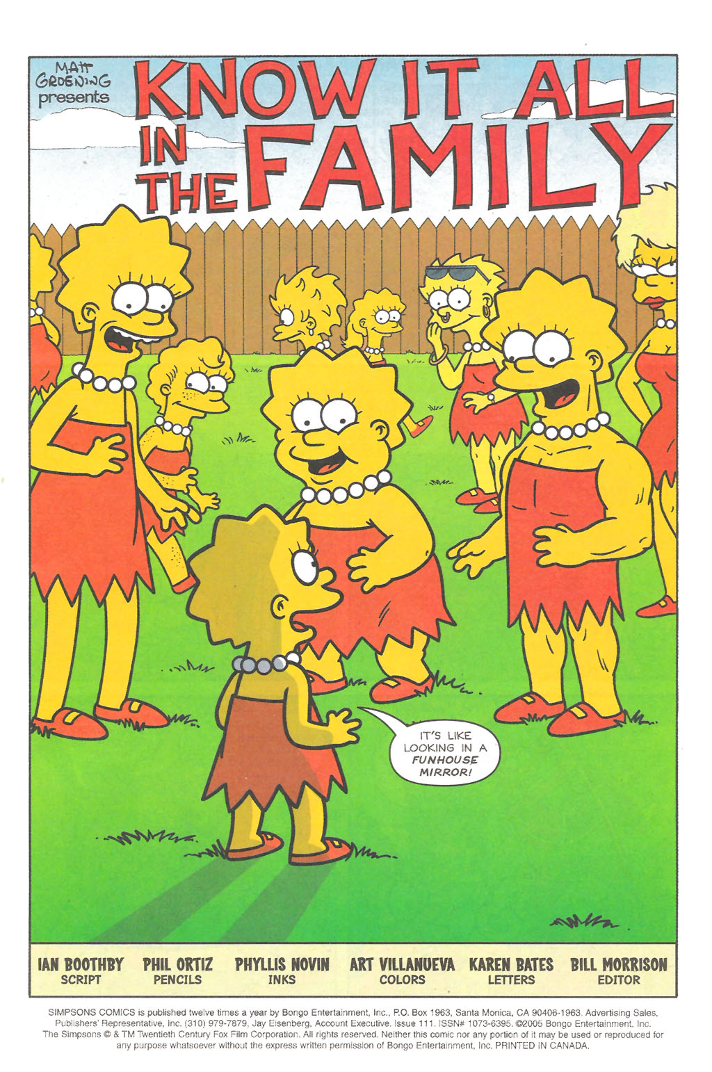 Read online Simpsons Comics comic -  Issue #111 - 2