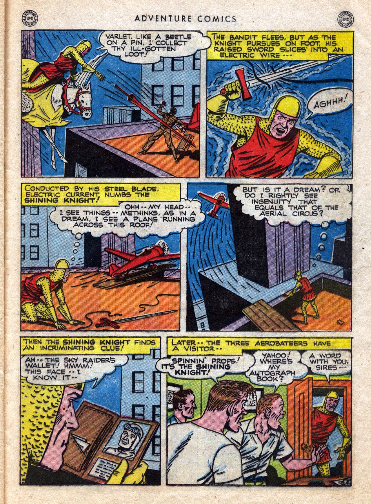 Read online Adventure Comics (1938) comic -  Issue #120 - 35
