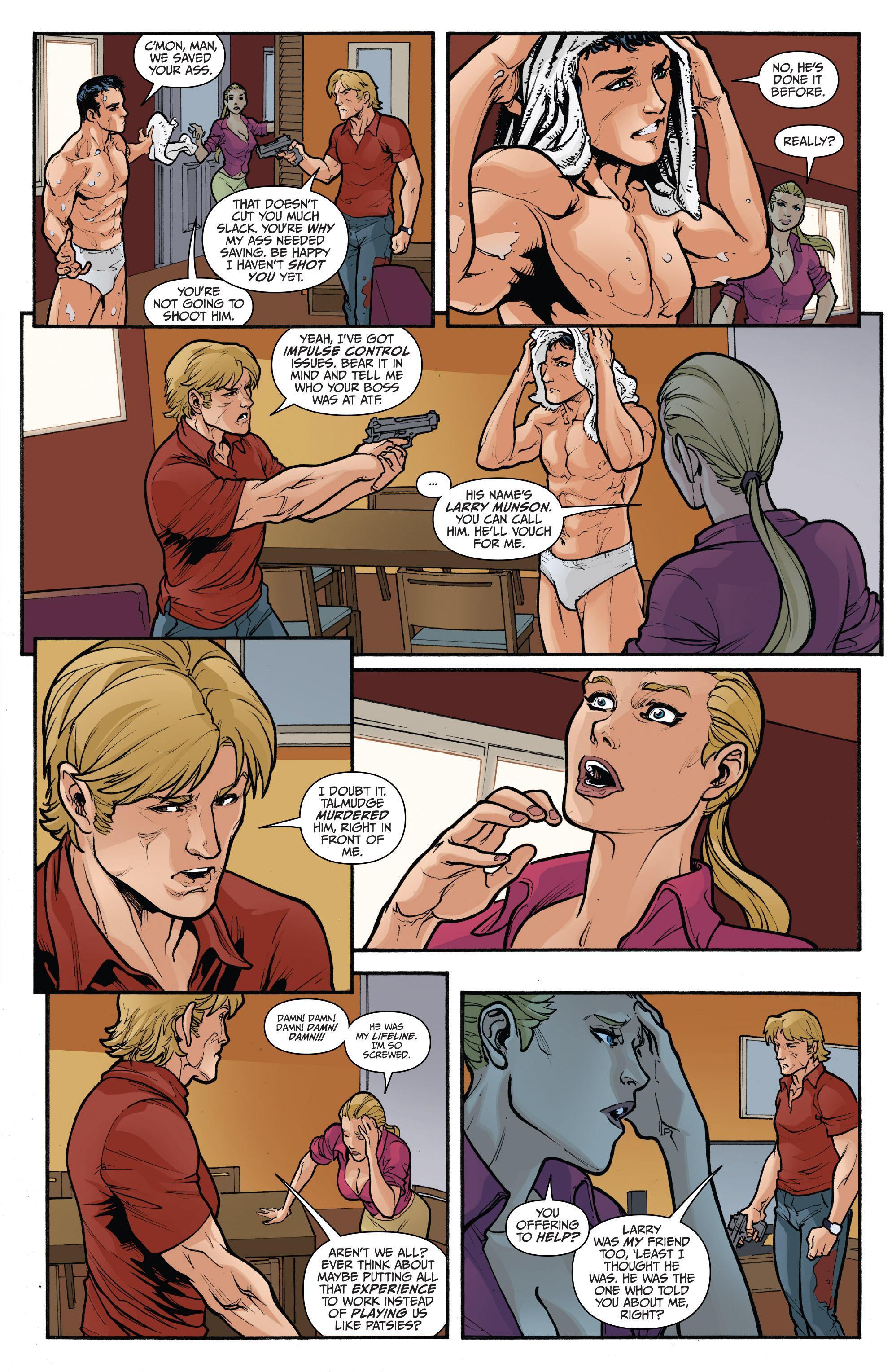 Read online 3 Guns comic -  Issue #5 - 11