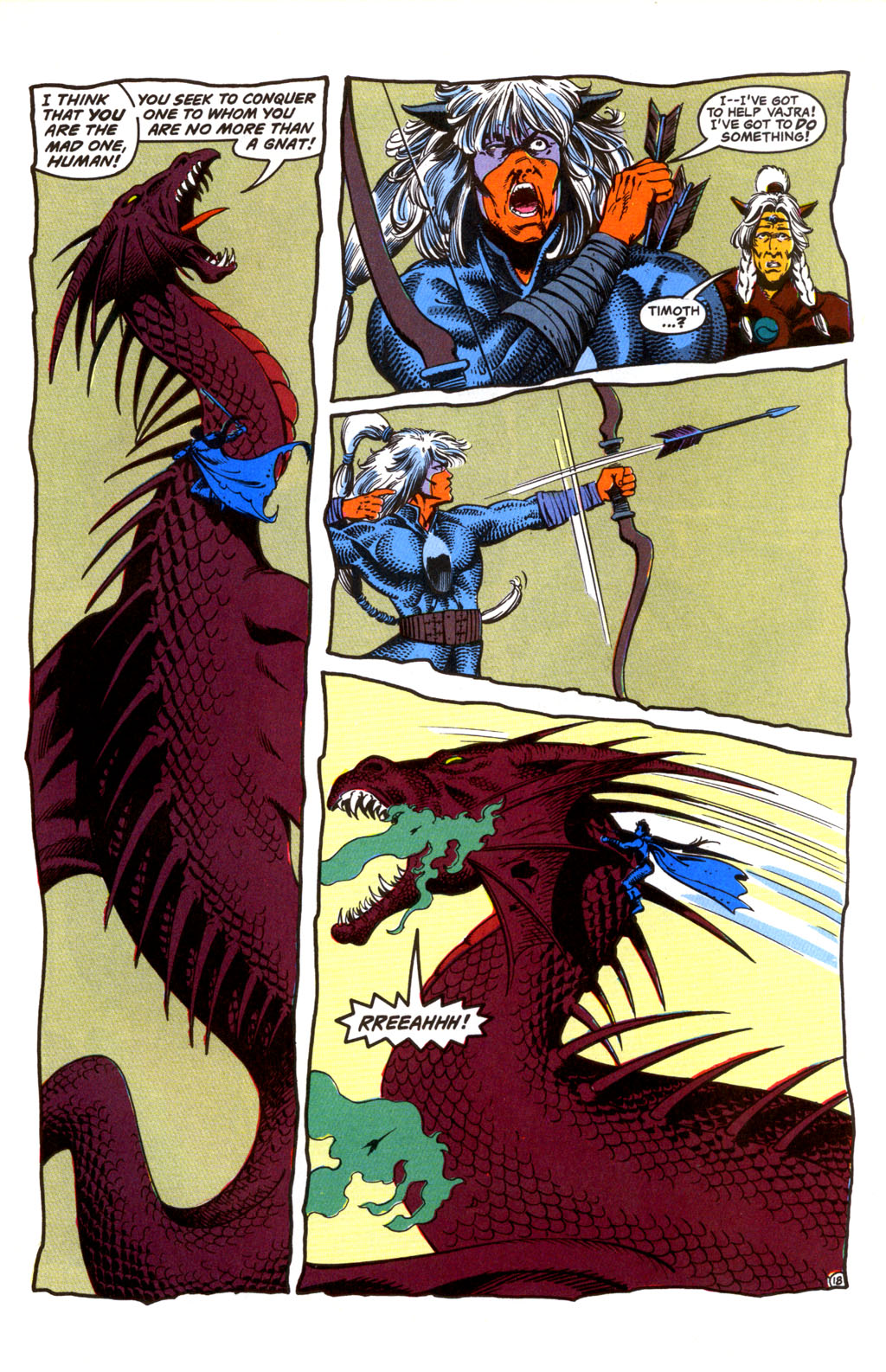 Read online Advanced Dungeons & Dragons comic -  Issue #26 - 18