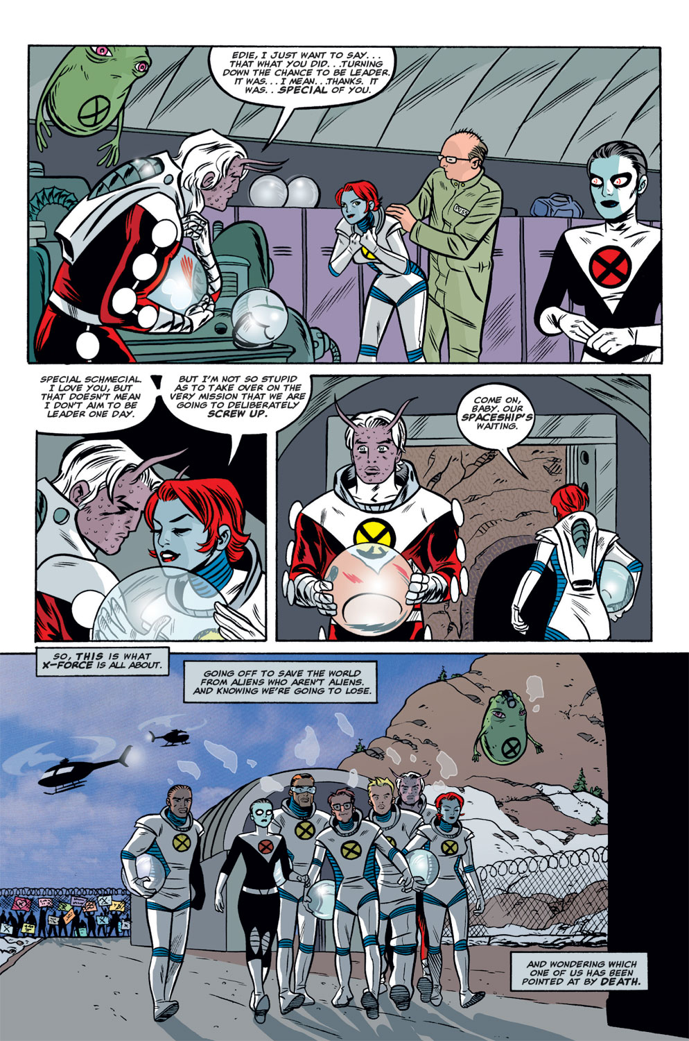 Read online X-Force (1991) comic -  Issue #125 - 22