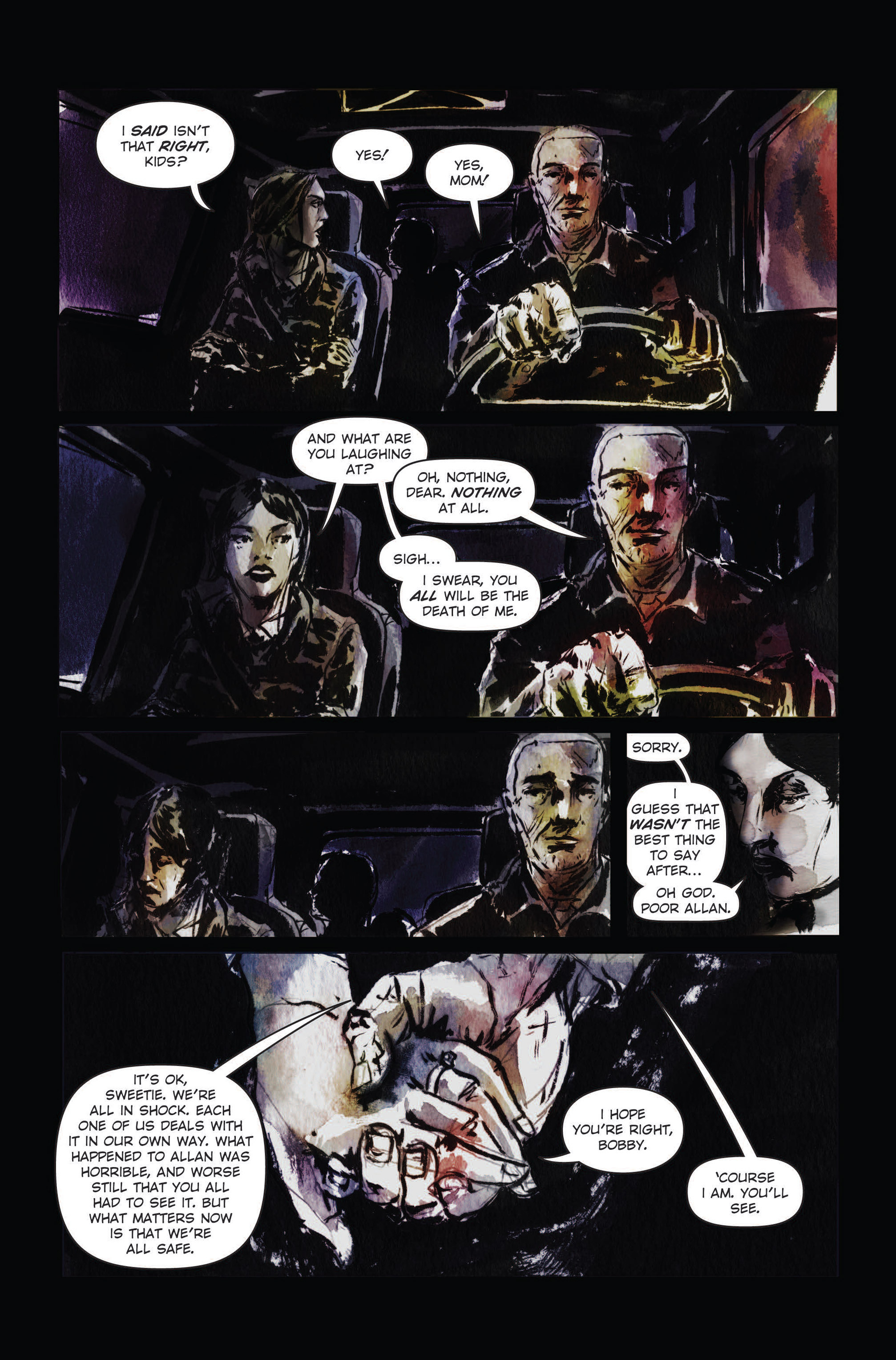 Read online The Final Plague comic -  Issue #3 - 11