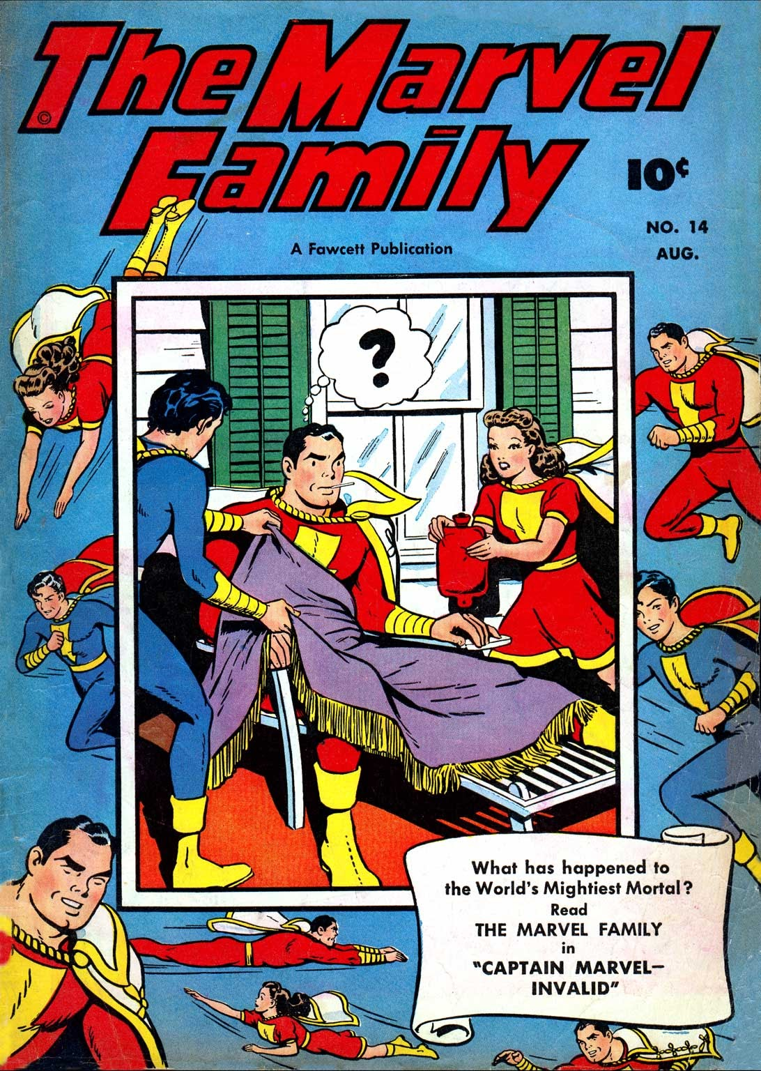 The Marvel Family issue 14 - Page 1