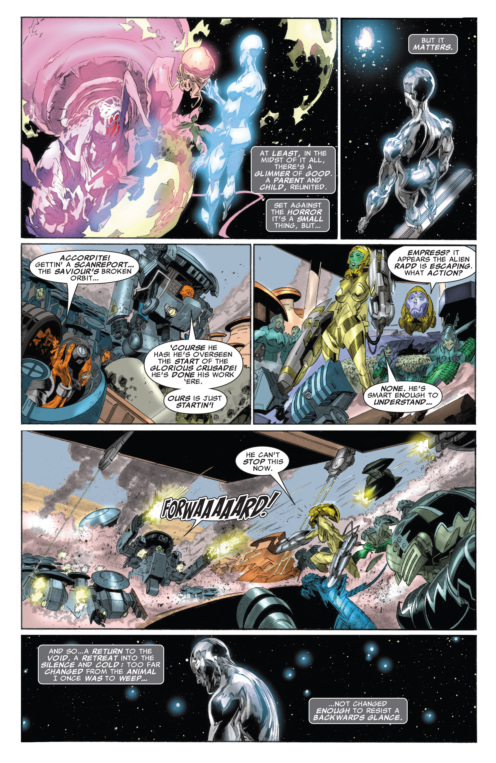 Read online Silver Surfer: In Thy Name comic -  Issue #4 - 22