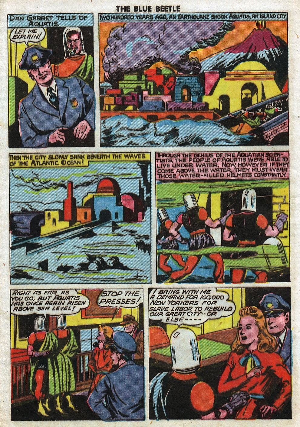 The Blue Beetle issue 33 - Page 40