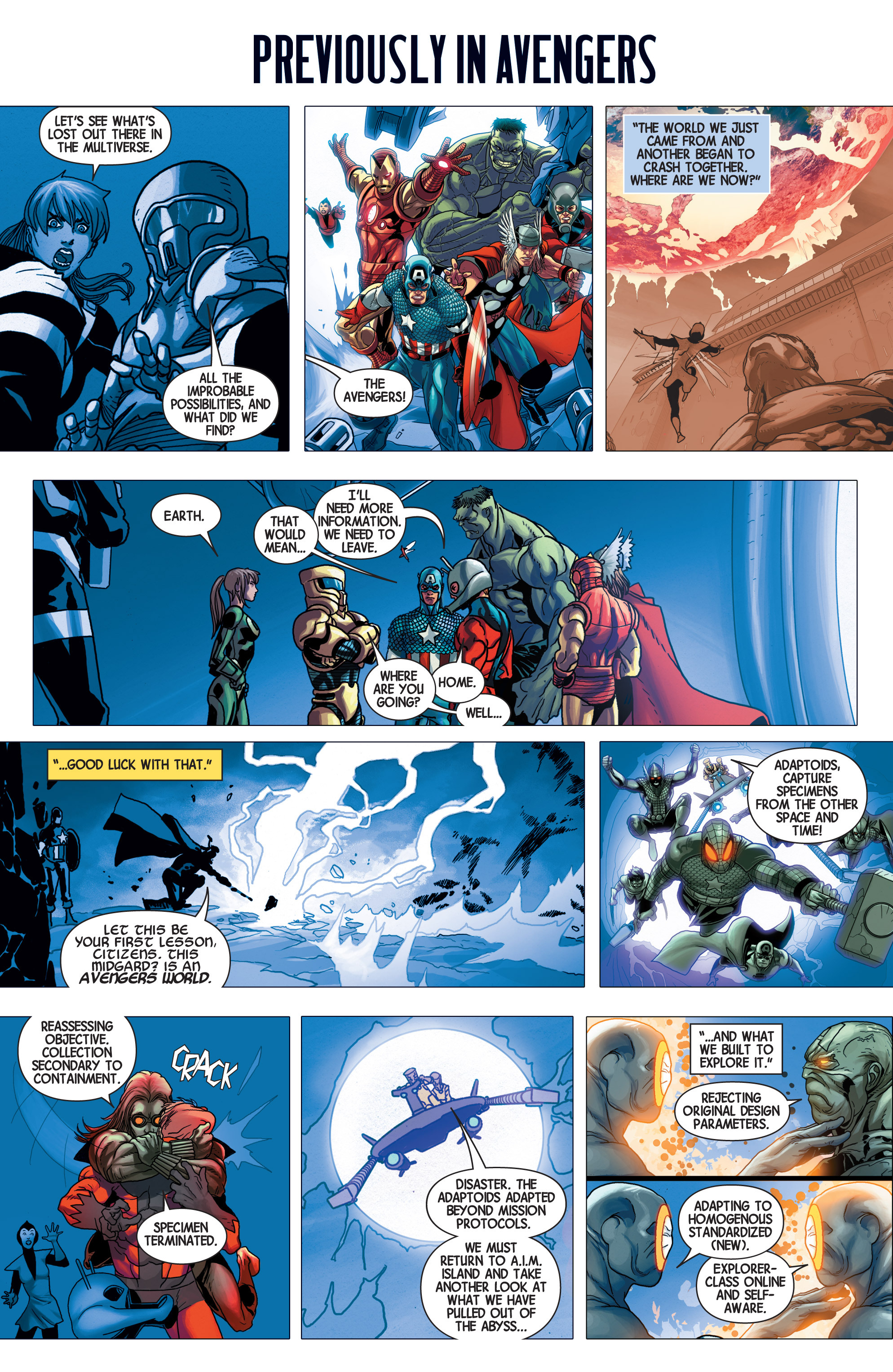 Read online Avengers (2013) comic -  Issue #27 - 2