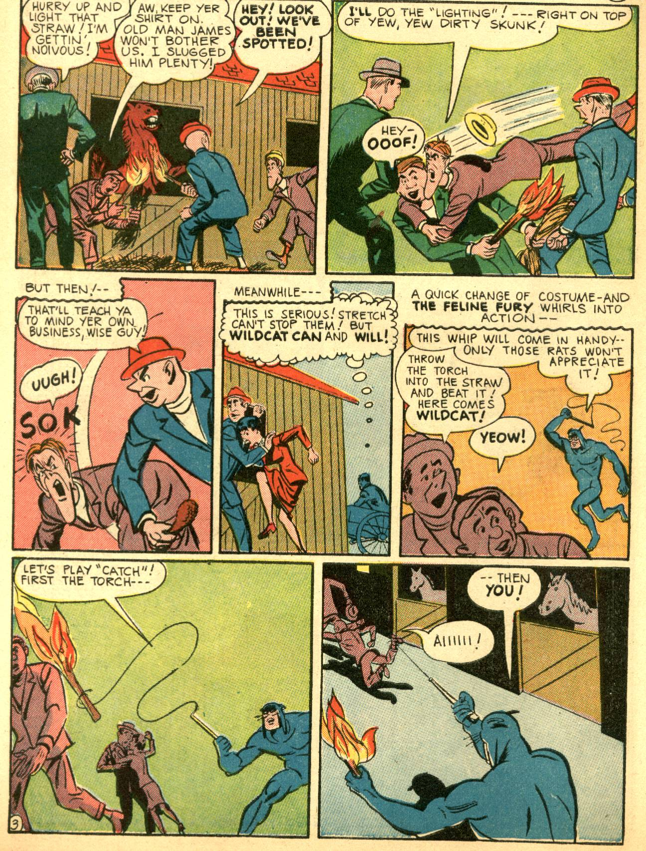 Read online Sensation (Mystery) Comics comic -  Issue #53 - 44