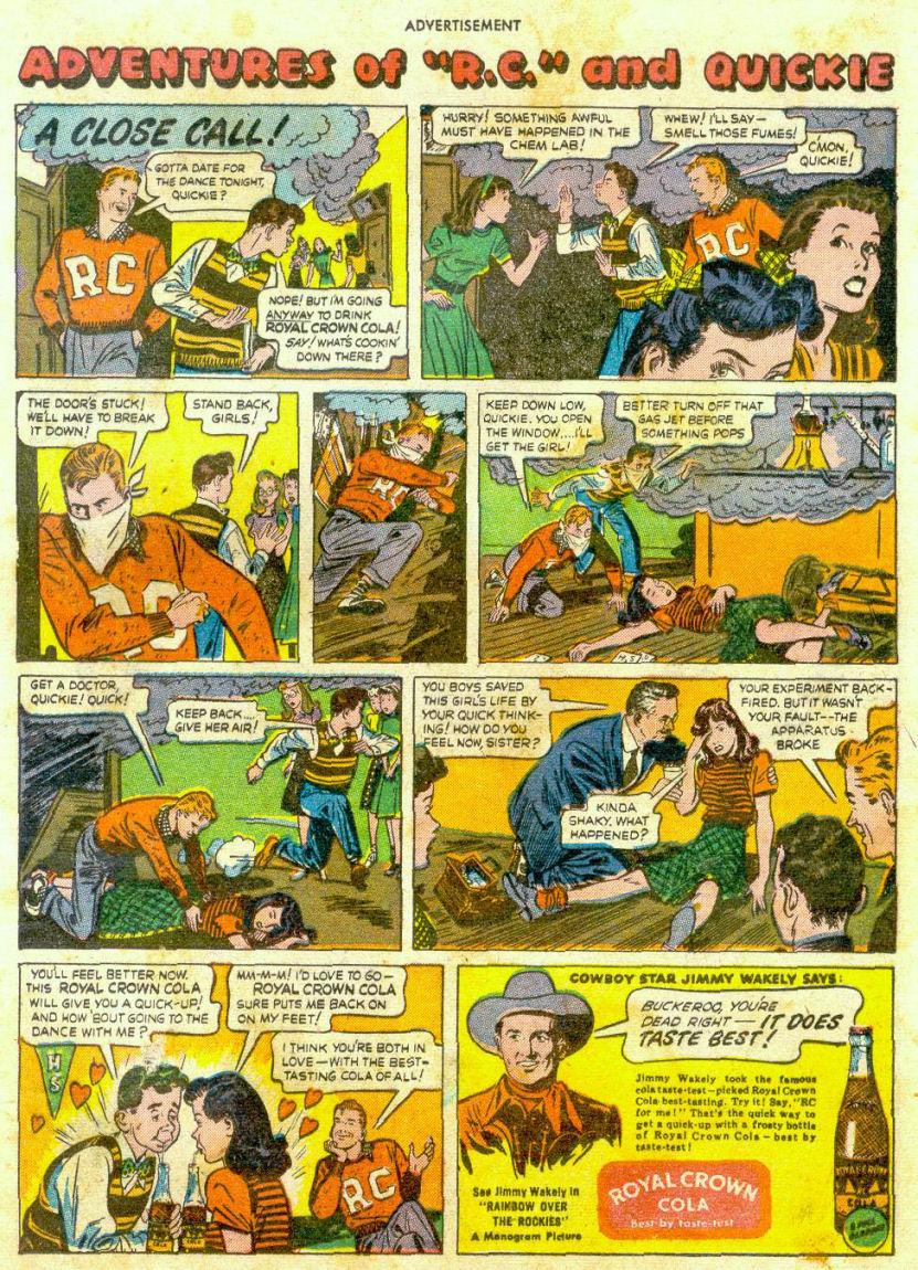 Read online Sensation (Mystery) Comics comic -  Issue #65 - 22