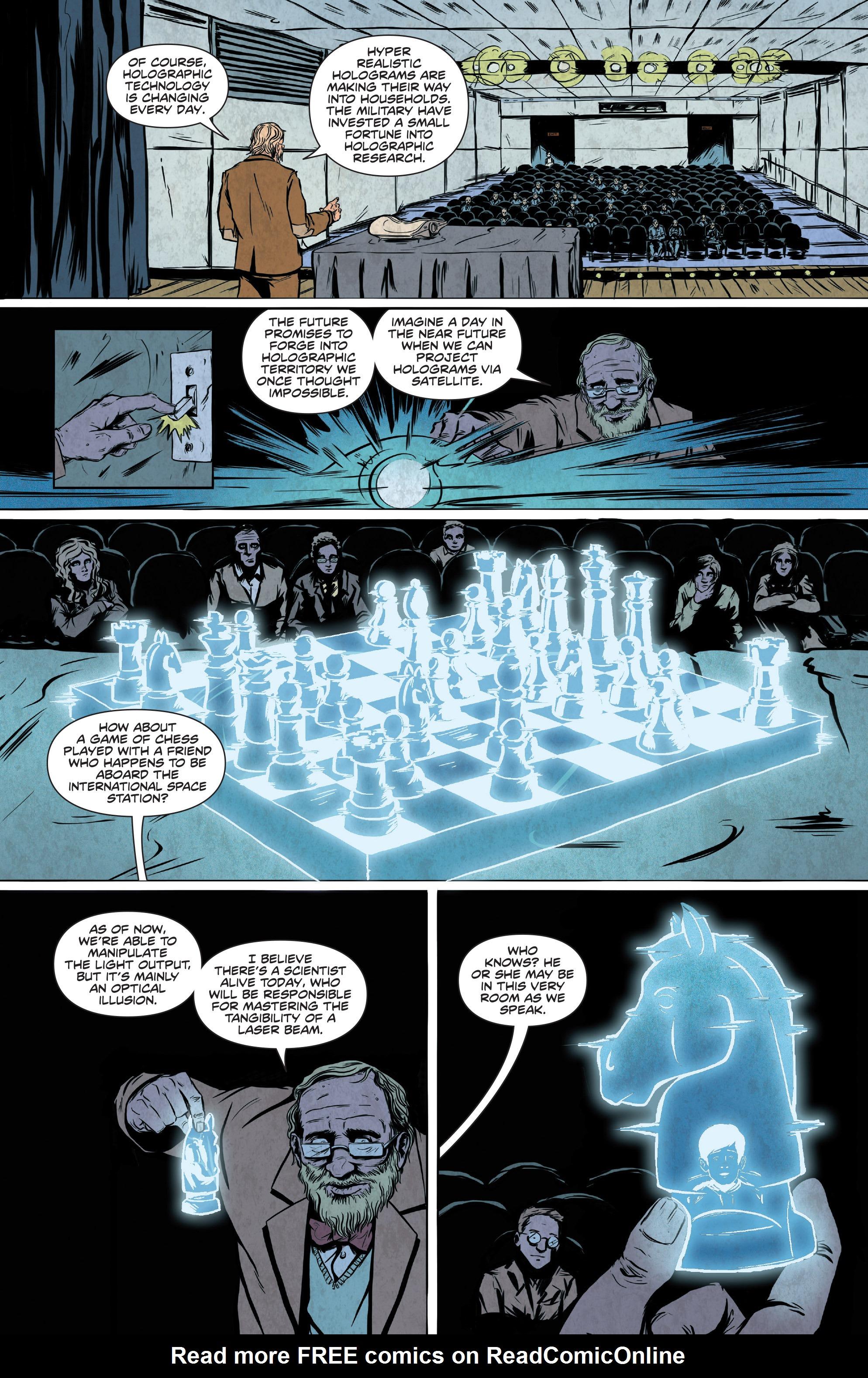 Read online Translucid comic -  Issue #2 - 5
