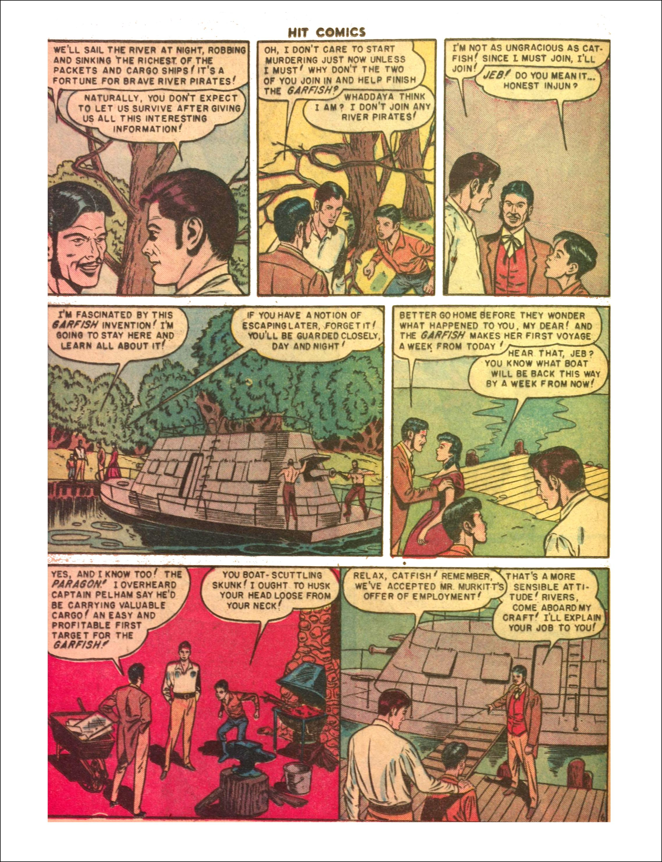 Read online Hit Comics comic -  Issue #65 - 8