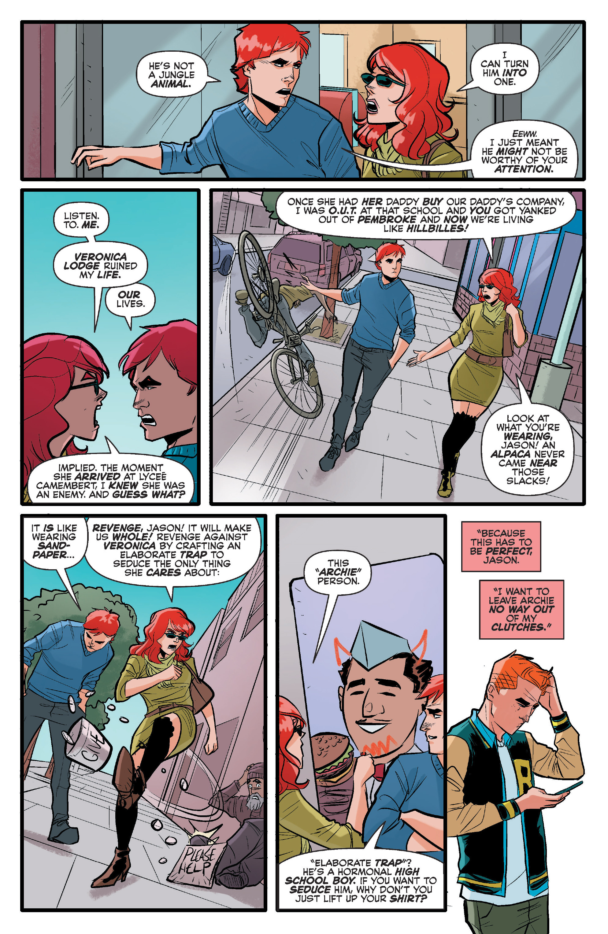 Read online Archie (2015) comic -  Issue #17 - 7