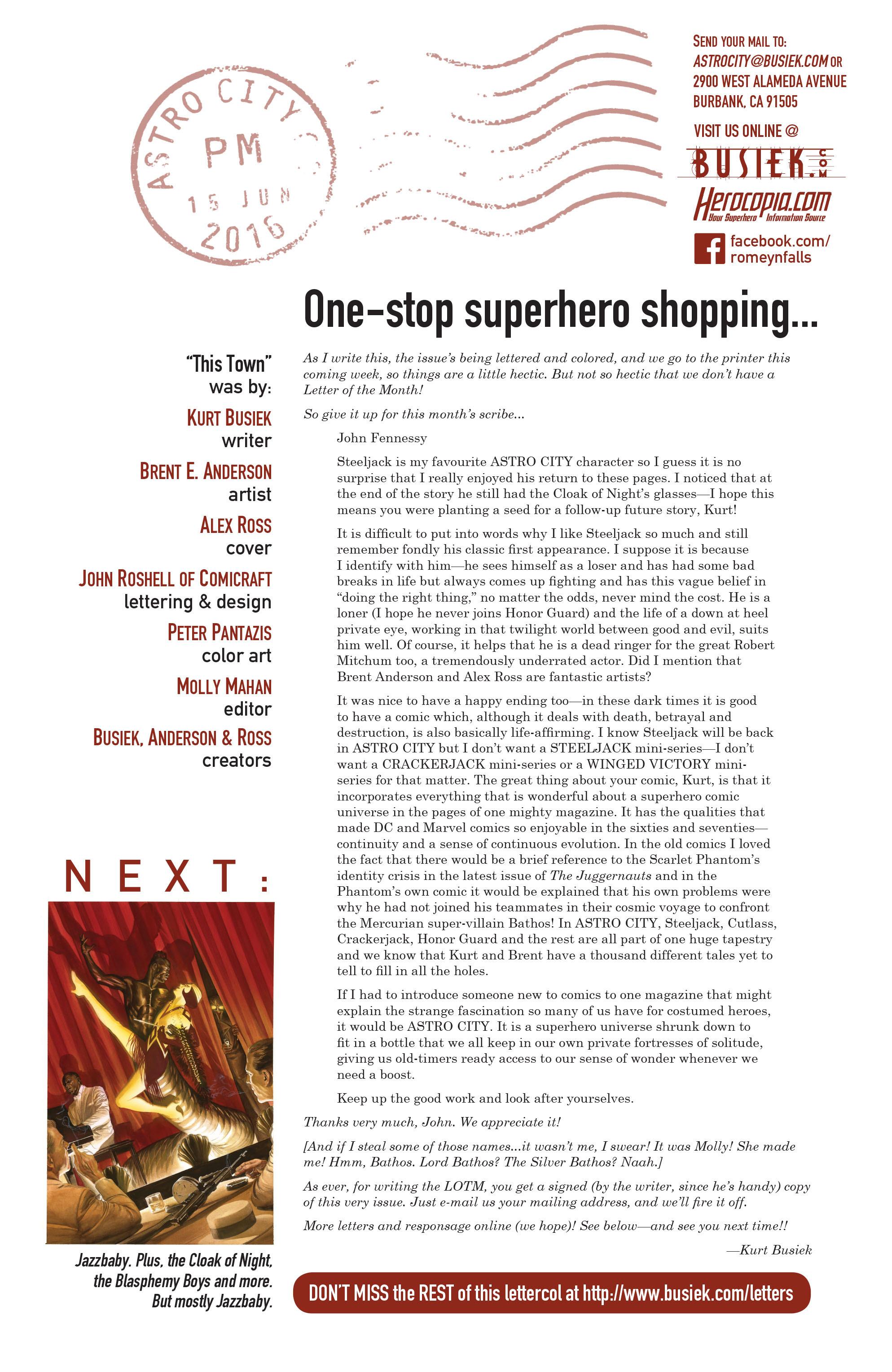Read online Astro City comic -  Issue #37 - 26
