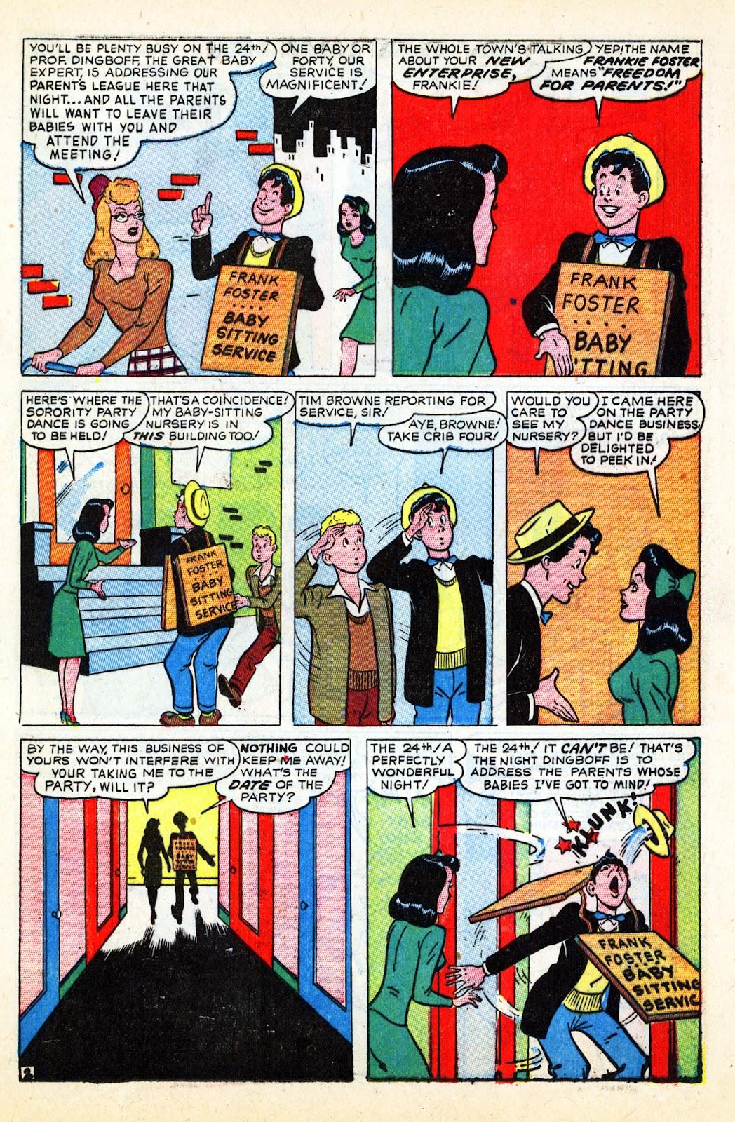 Georgie Comics (1945) issue 17 - Page 37