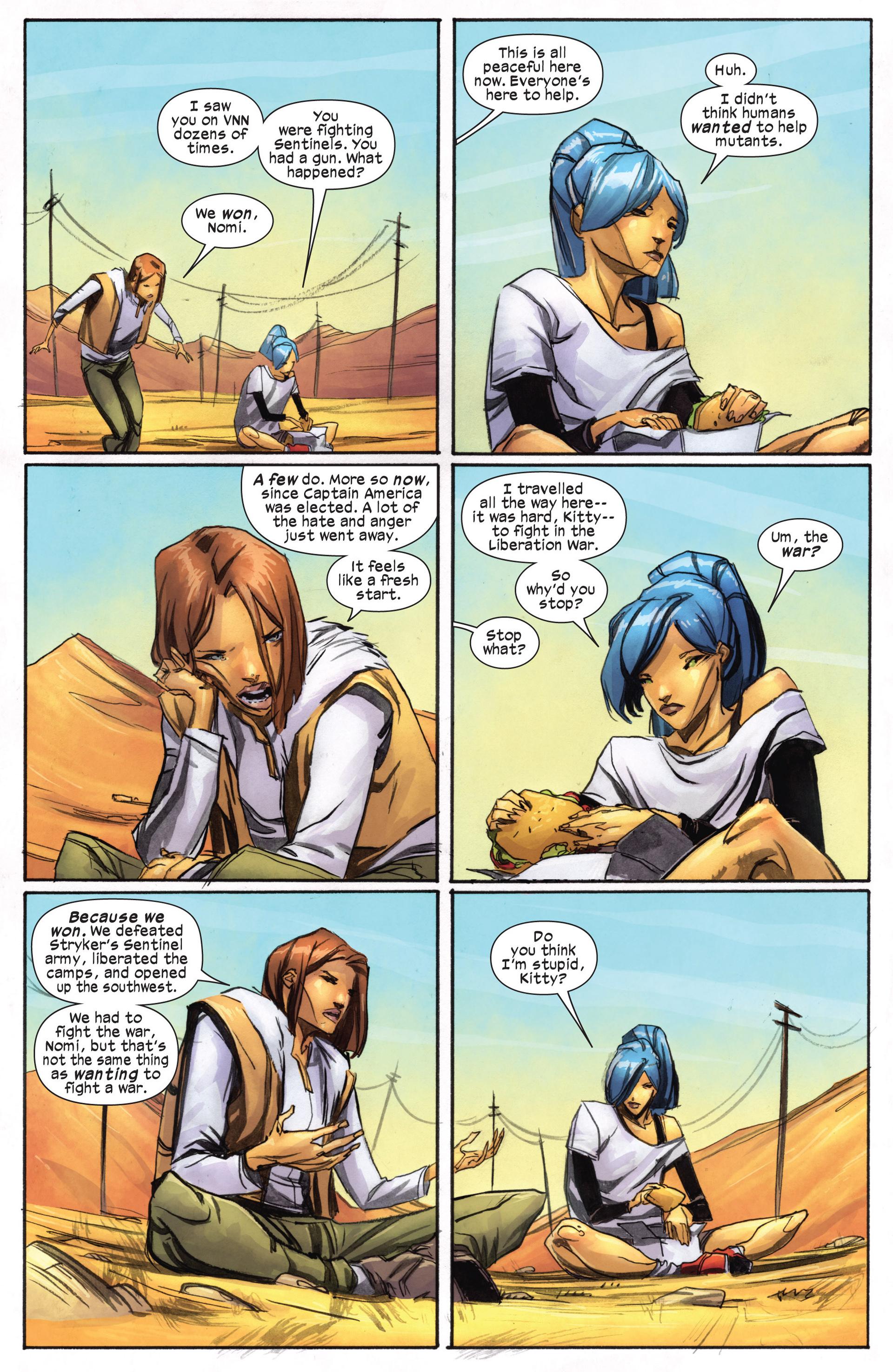Read online Ultimate Comics X-Men comic -  Issue #18.1 - 15