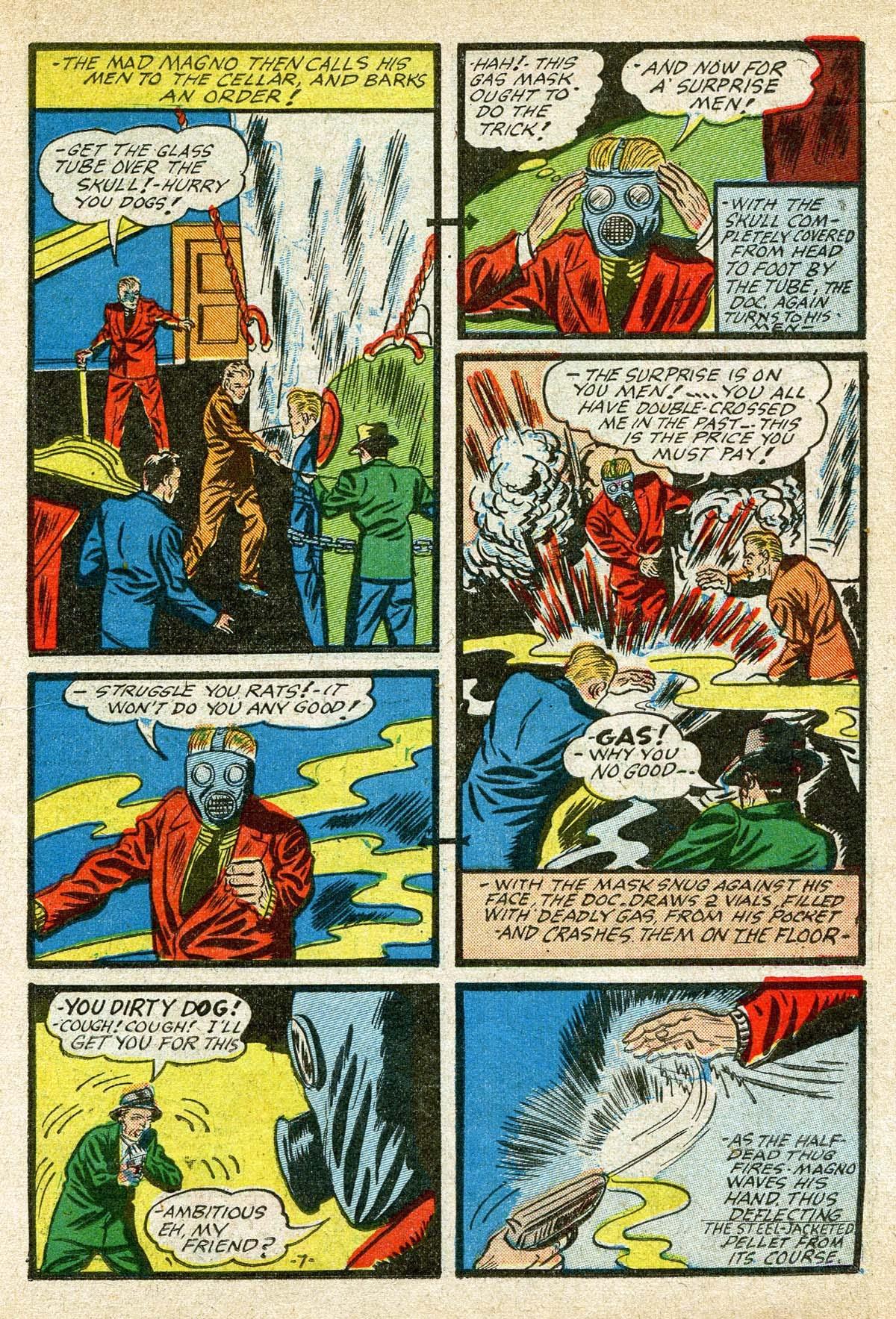 Read online Amazing Man Comics comic -  Issue #8 - 27