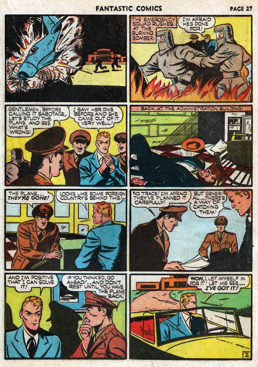 Read online Fantastic Comics comic -  Issue #17 - 29