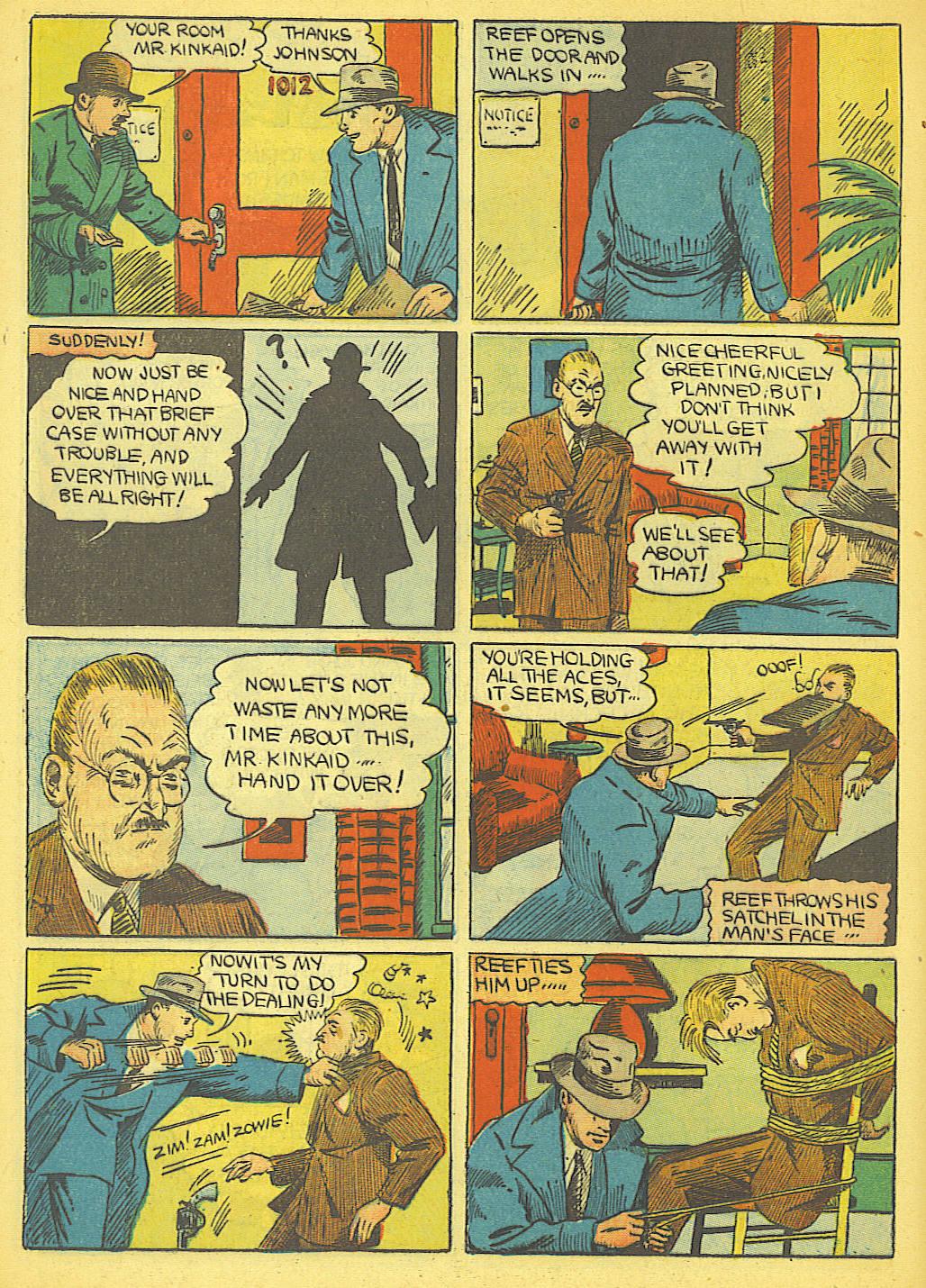 Read online Amazing Man Comics comic -  Issue #19 - 54