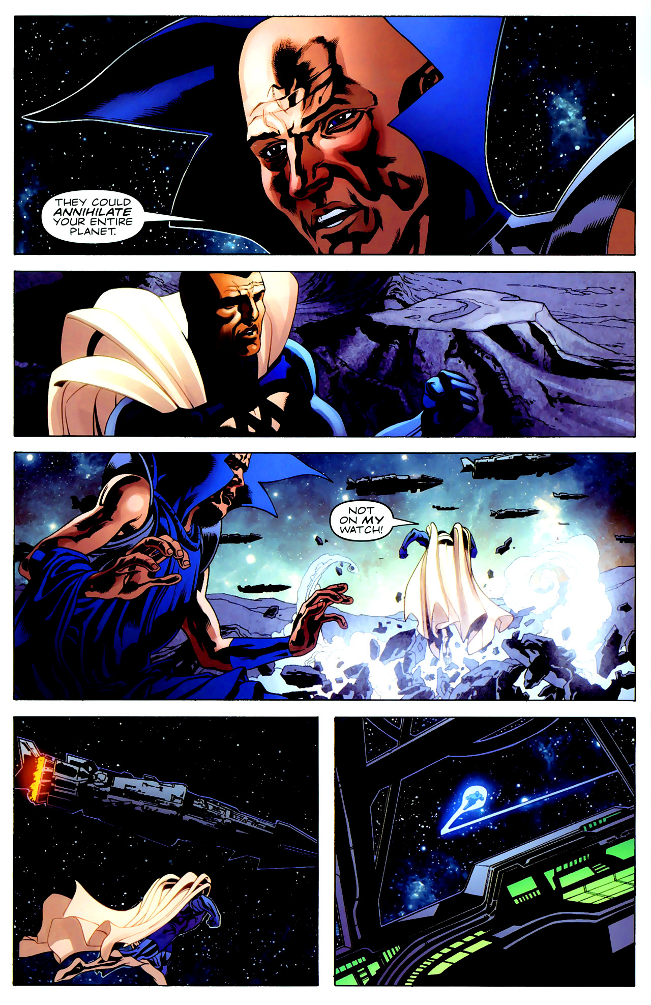 Read online Adam: Legend of the Blue Marvel comic -  Issue #3 - 17