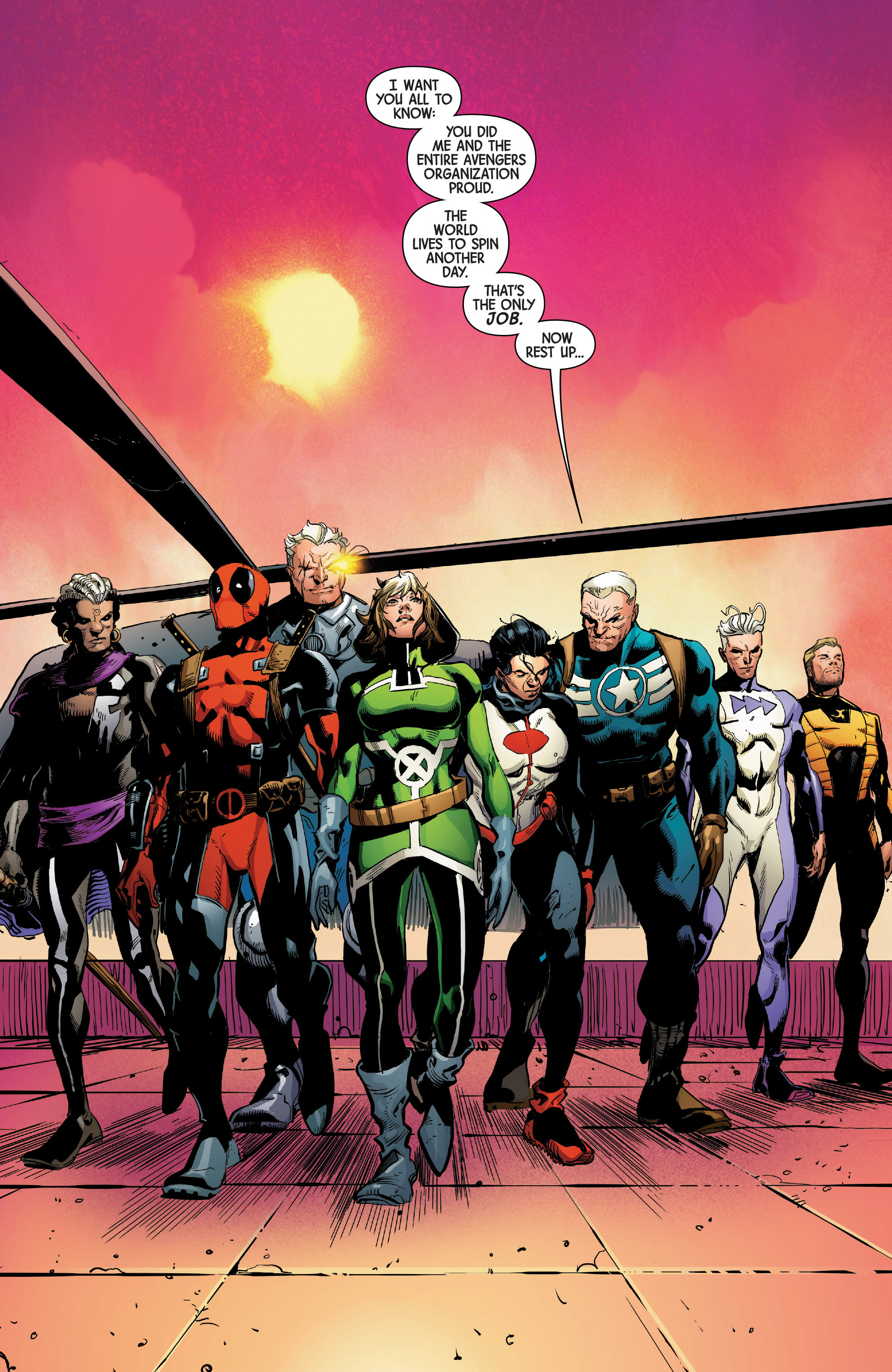 Read online Uncanny Avengers [II] comic -  Issue #4 - 20