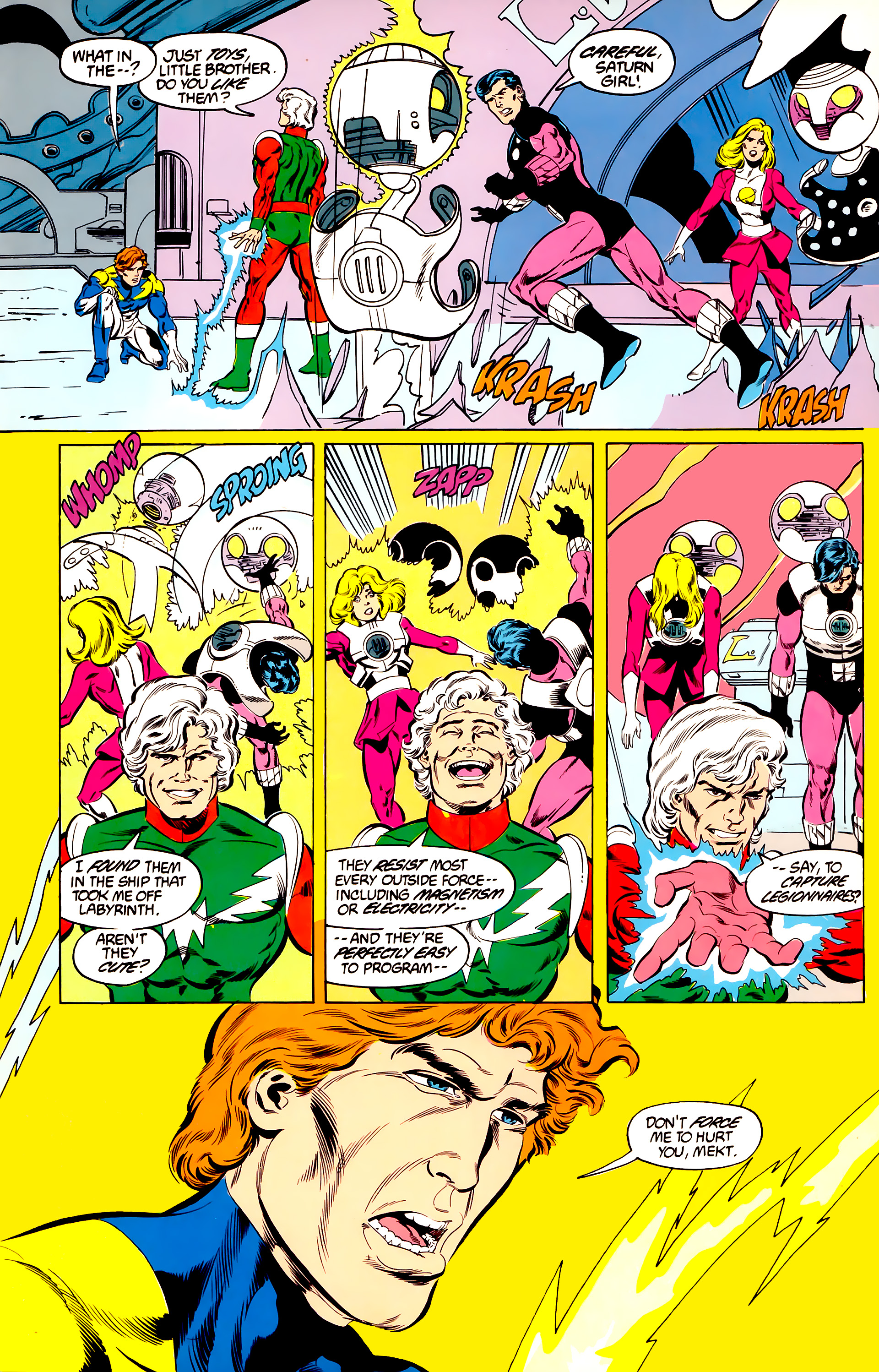 Legion of Super-Heroes (1984) 45 Page 51