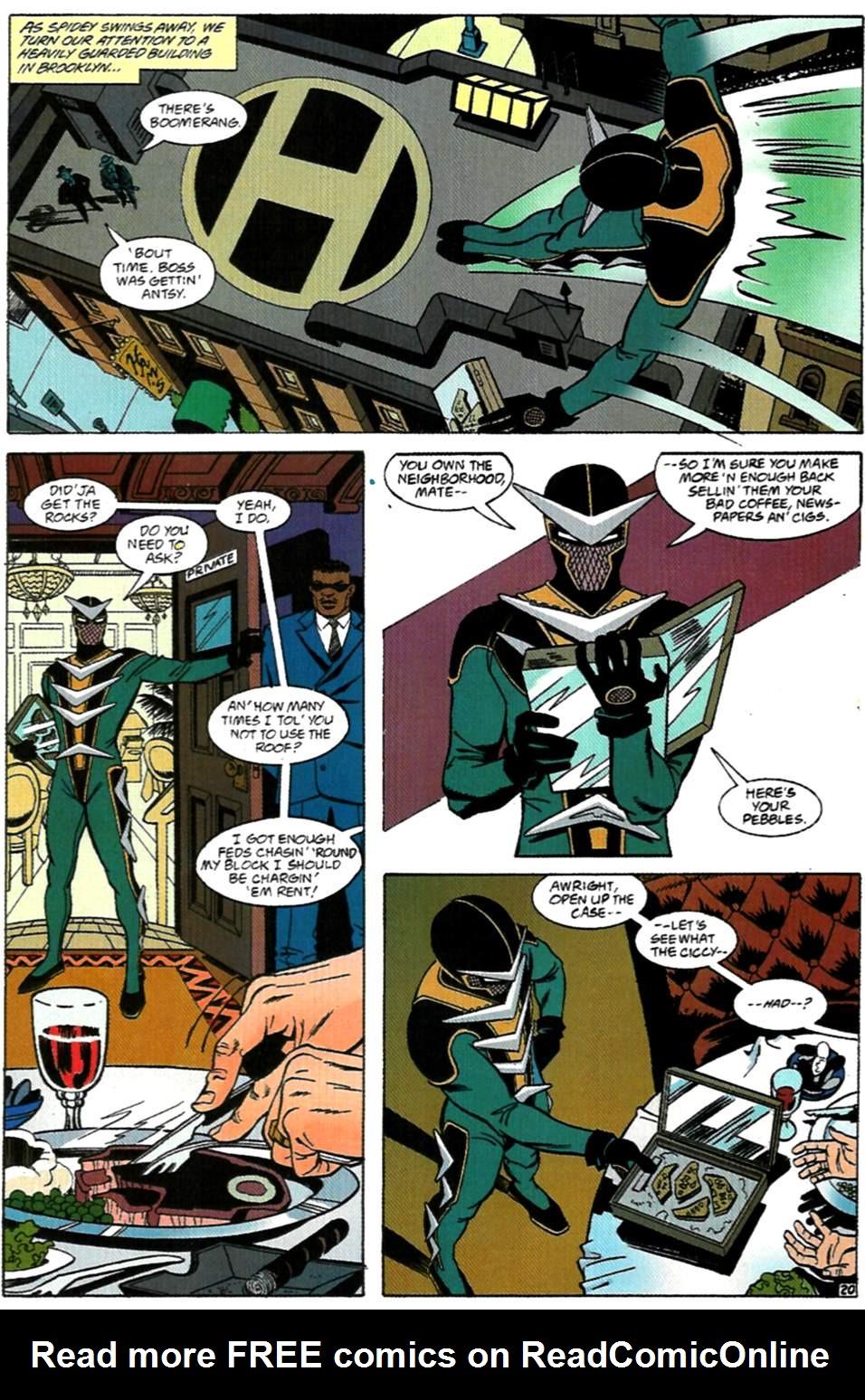 Read online Spider-Man: Lifeline comic -  Issue #1 - 21