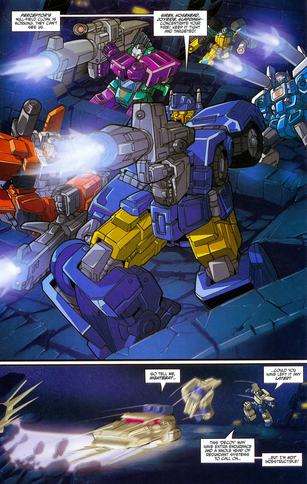 """Read online Transformers War Within: """"The Age of Wrath"""" comic -  Issue #2 - 20"""