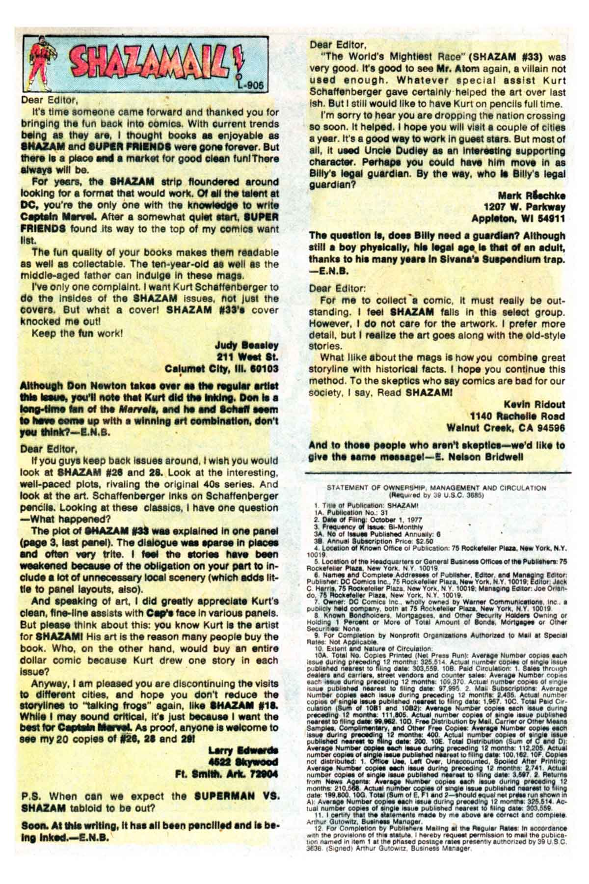Read online Shazam! (1973) comic -  Issue #35 - 19