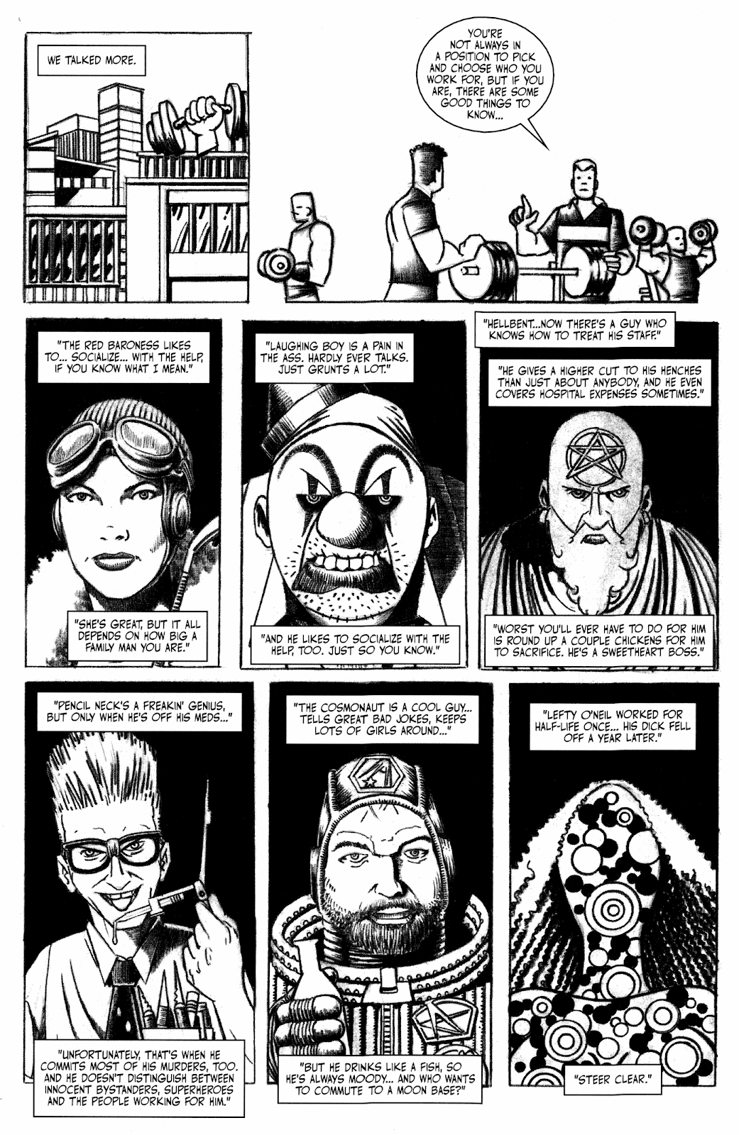 Read online Hench comic -  Issue # TPB - 18