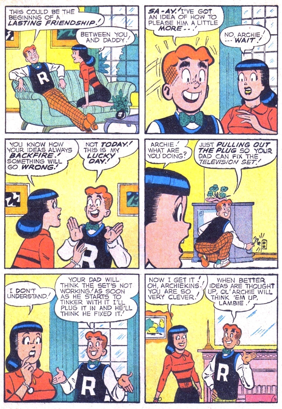 Read online Archie (1960) comic -  Issue #116 - 23