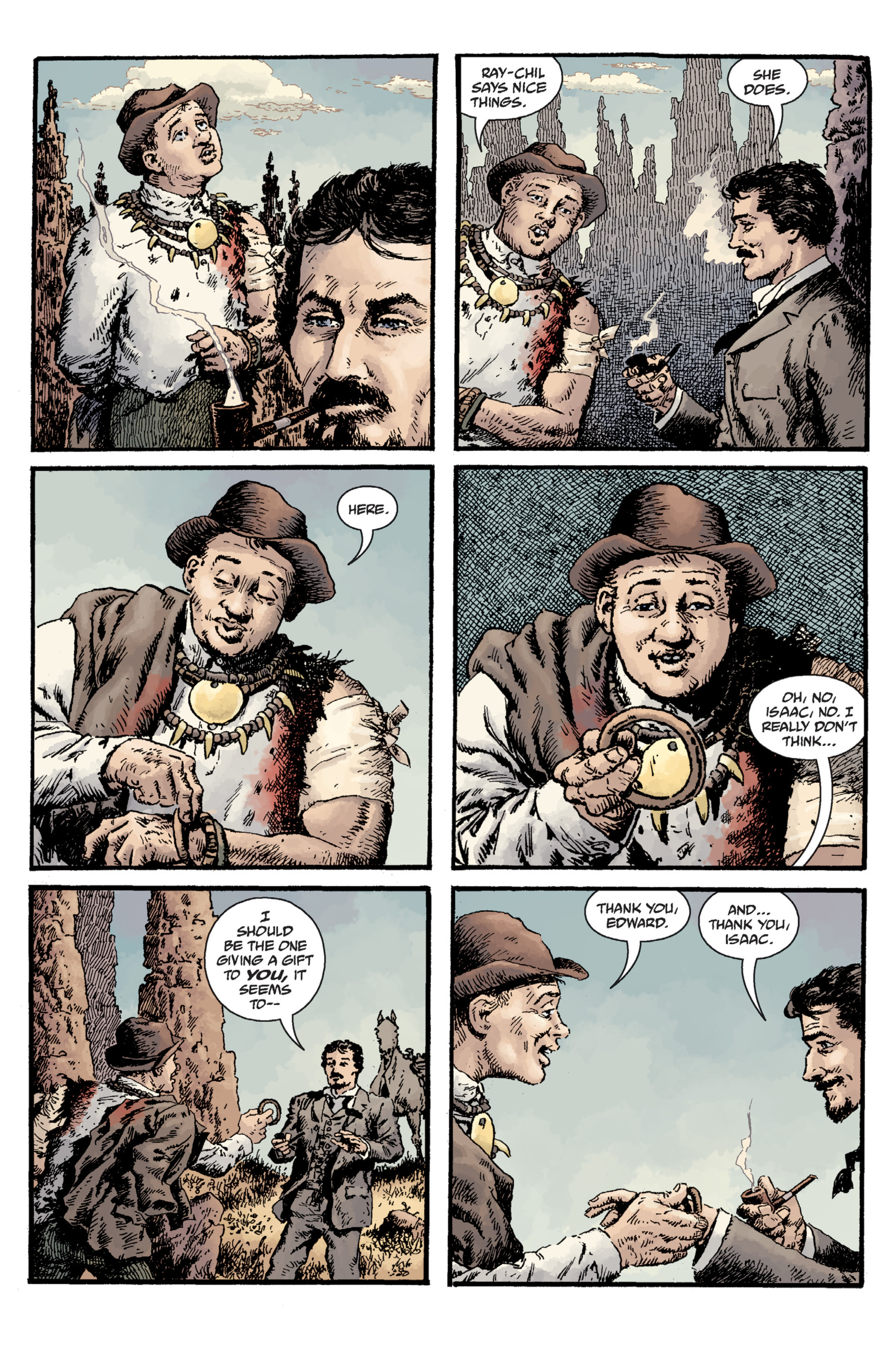 Read online Sir Edward Grey, Witchfinder: Lost and Gone Forever comic -  Issue # TPB - 71