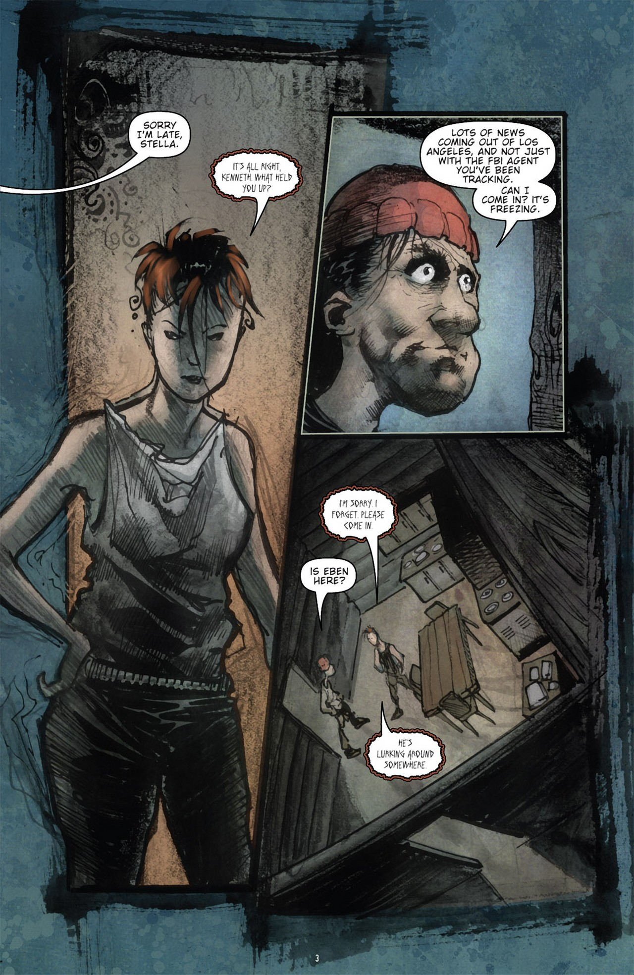 Read online 30 Days of Night (2011) comic -  Issue #3 - 7