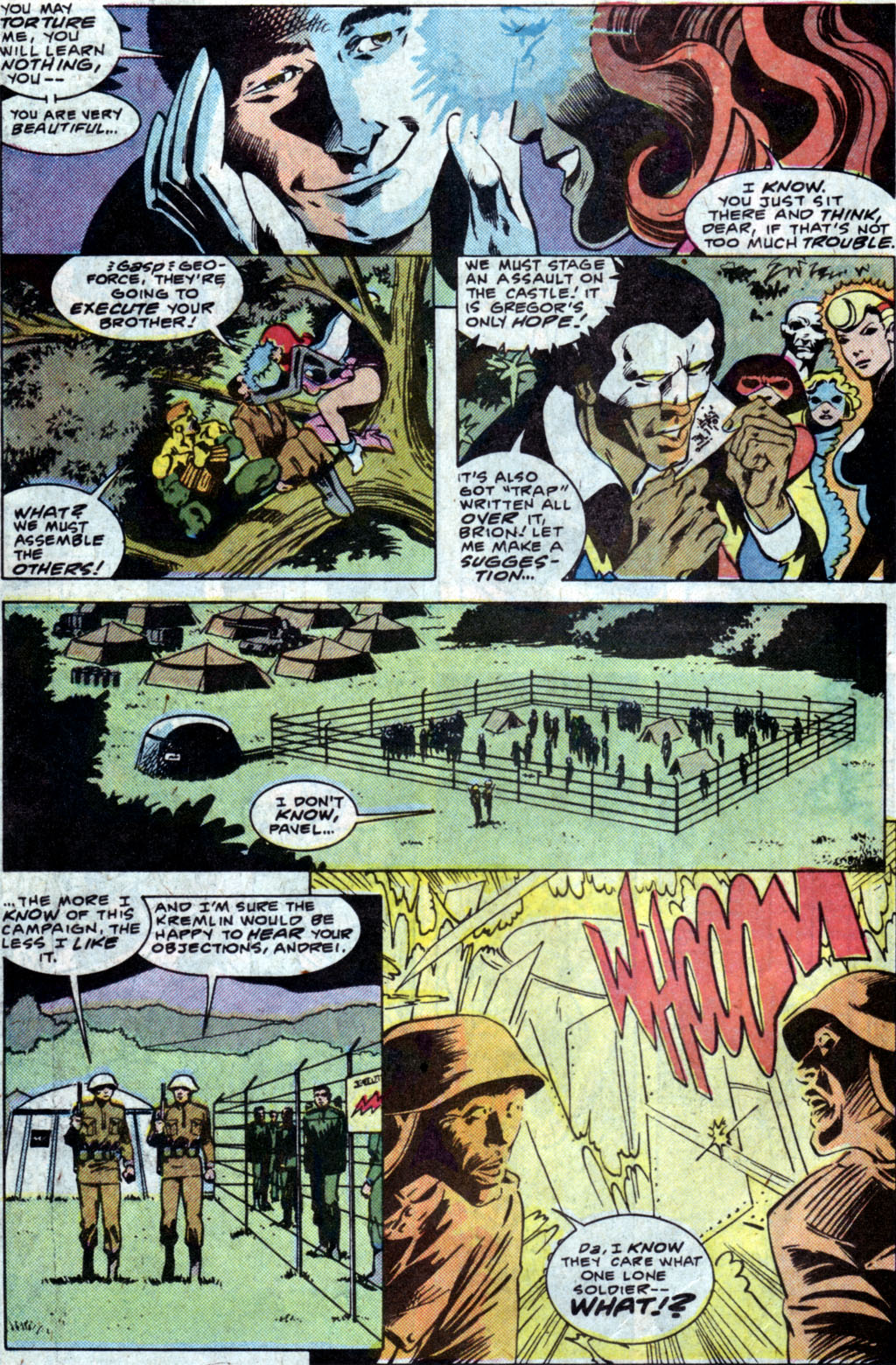 Read online Adventures of the Outsiders comic -  Issue #35 - 14