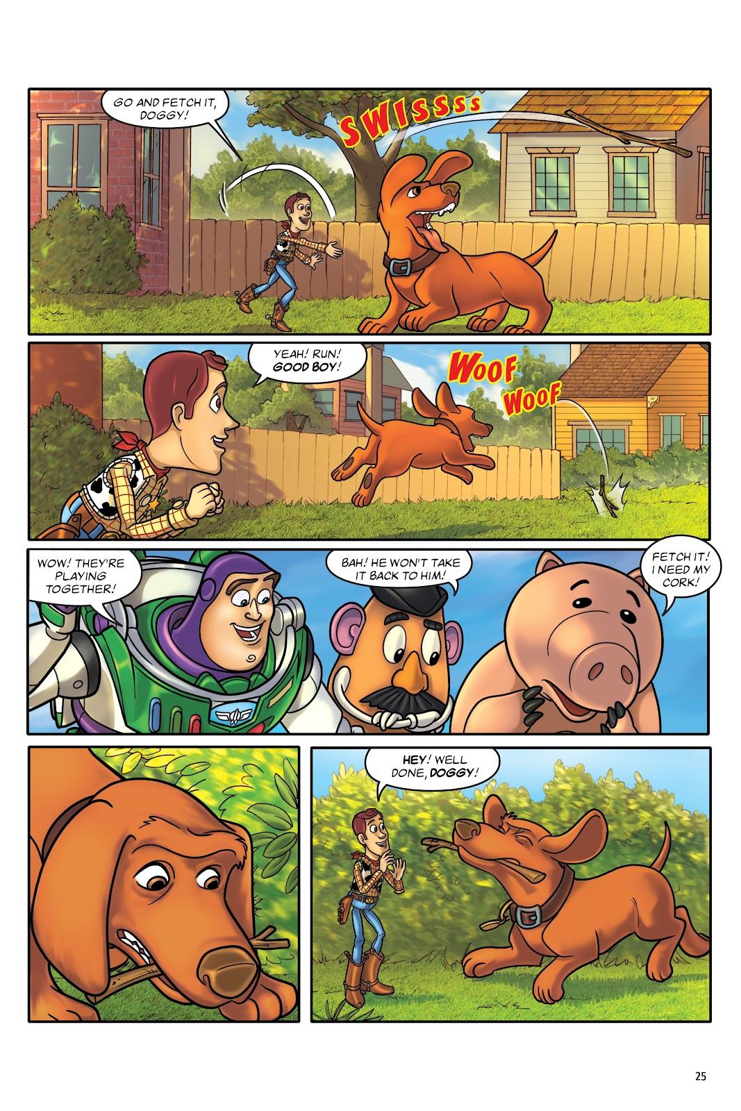 Read online DISNEY·PIXAR Toy Story Adventures comic -  Issue # TPB 1 (Part 1) - 25