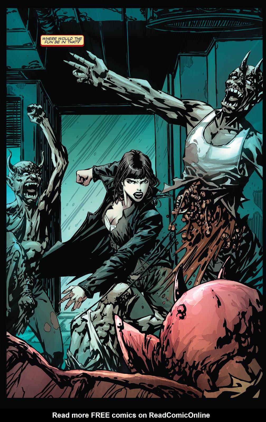 Read online Vampirella Strikes comic -  Issue #1 - 12