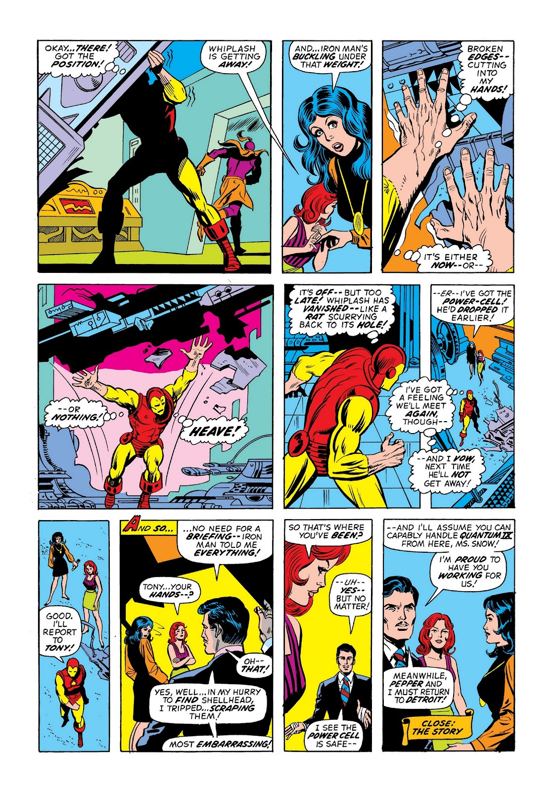 Read online Marvel Masterworks: The Invincible Iron Man comic -  Issue # TPB 9 (Part 2) - 92