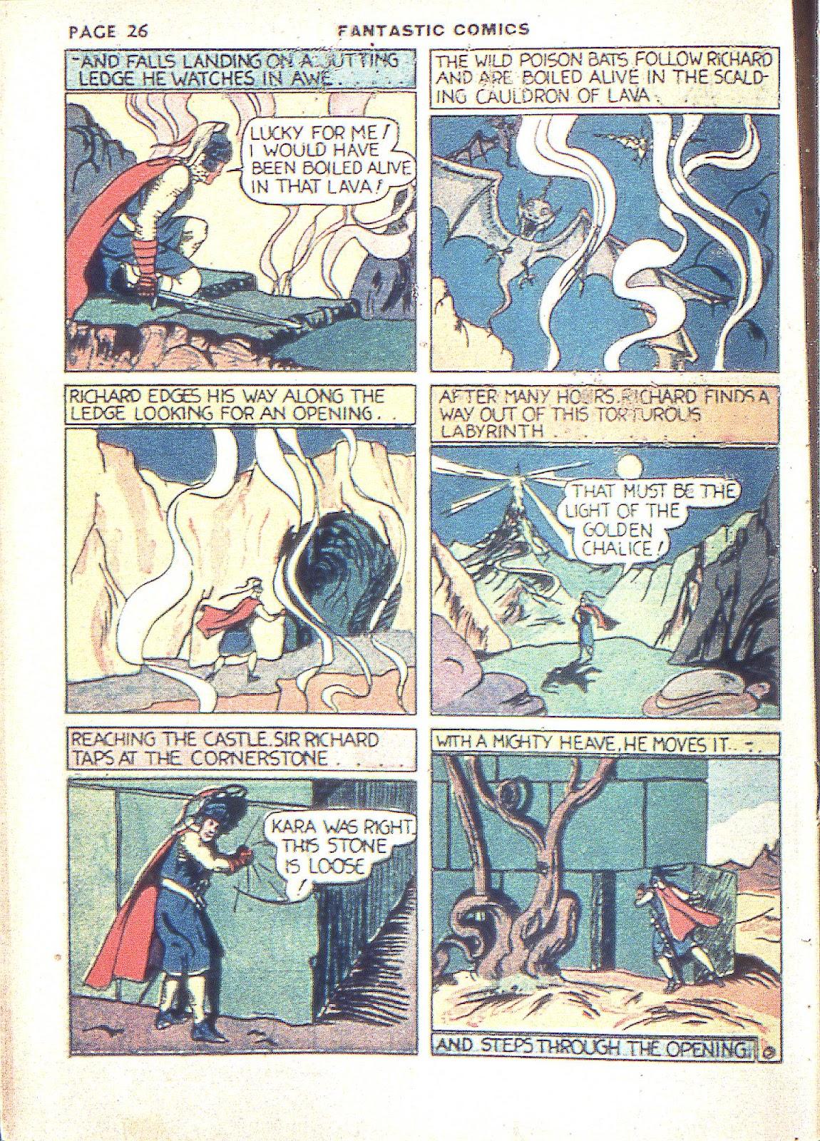 Read online Fantastic Comics comic -  Issue #3 - 29