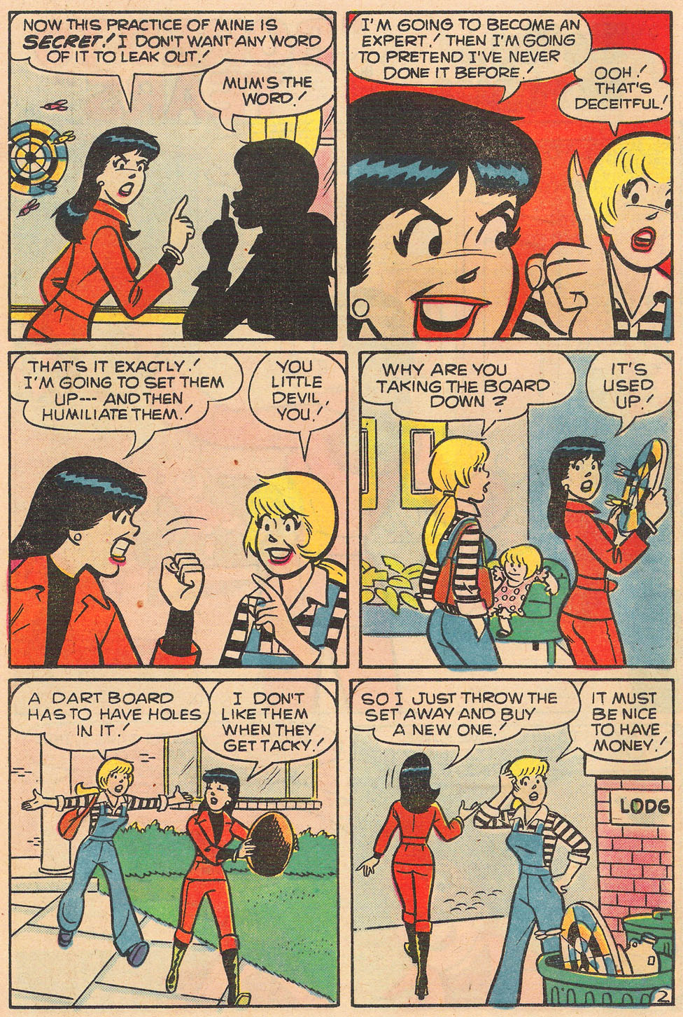 Read online Archie's Girls Betty and Veronica comic -  Issue #259 - 14